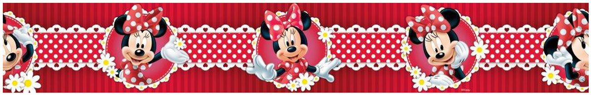 Selbstklebende Tapete Cars : Minnie Mouse Polka Dot Border