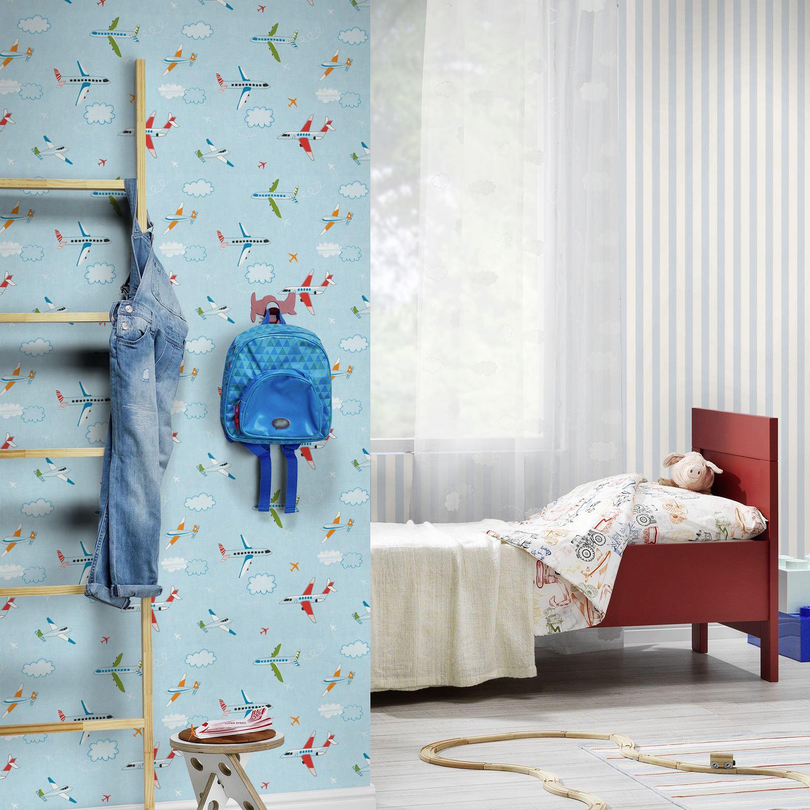 vehicles themed wallpaper borders bedroom feature wall decor ebay
