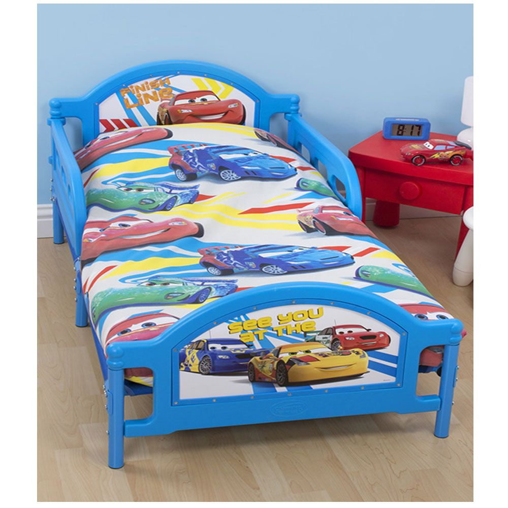 DISNEY CARS SPEED JUNIOR ROTARY DUVET COVER SET TODDLER