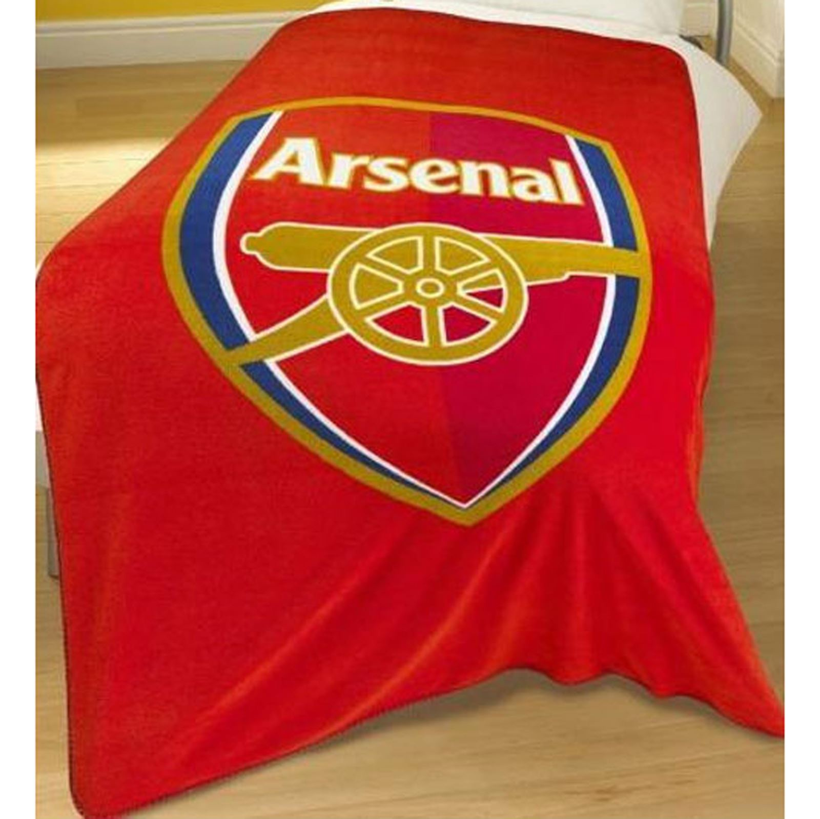 ARSENAL FOOTBALL BEDDING AND BEDROOM ACCESSORIES TOWELS