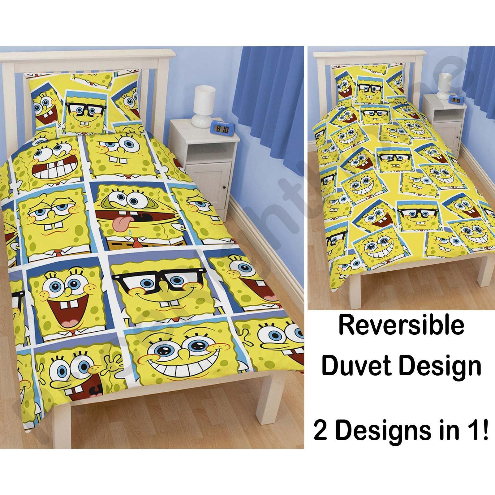 spongebob squarepants bedroom accessories bedding furniture new