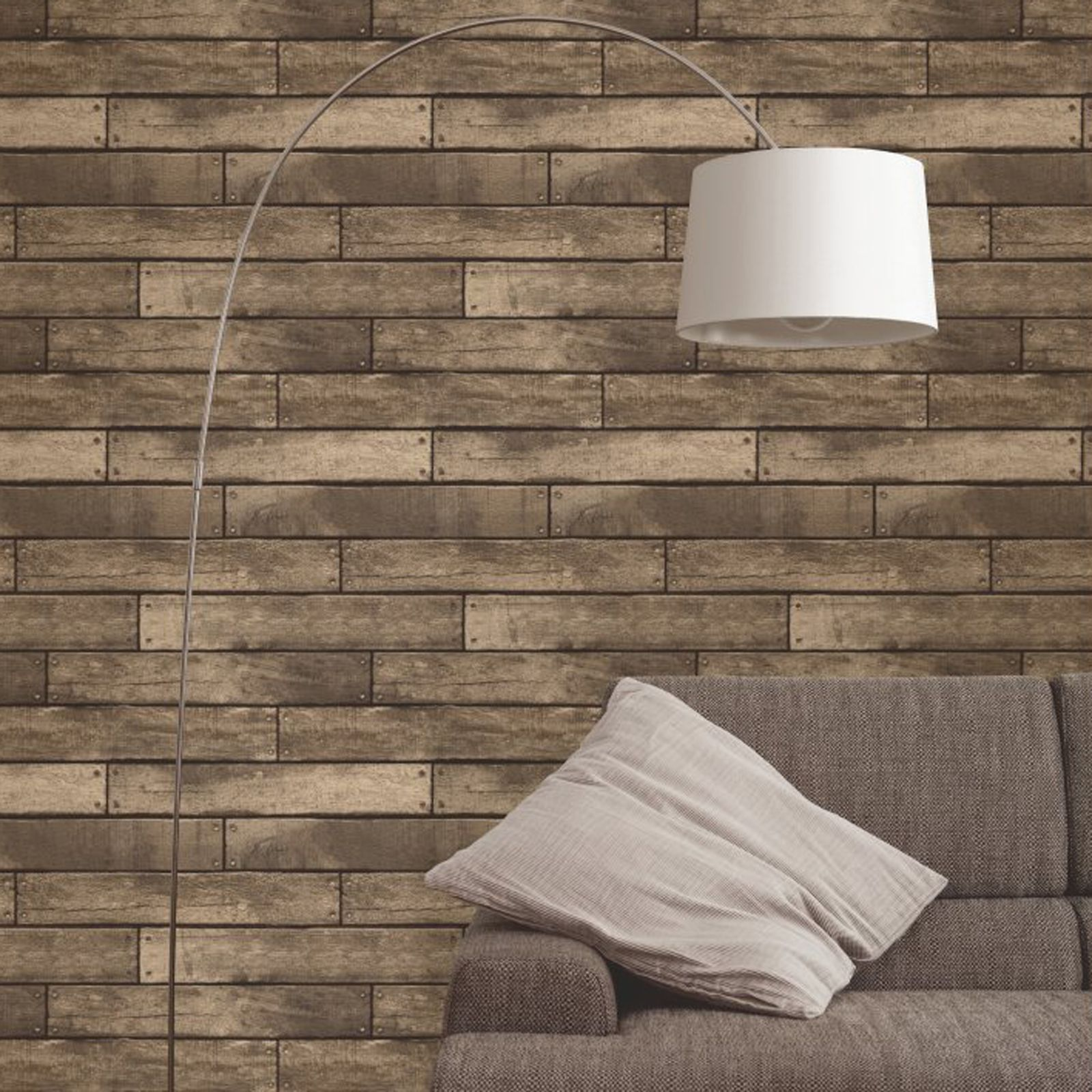 FINE DECOR LUXURY 10M EFFECTS WALLPAPER – STONE BRICK WOOD SLATE NEW ...
