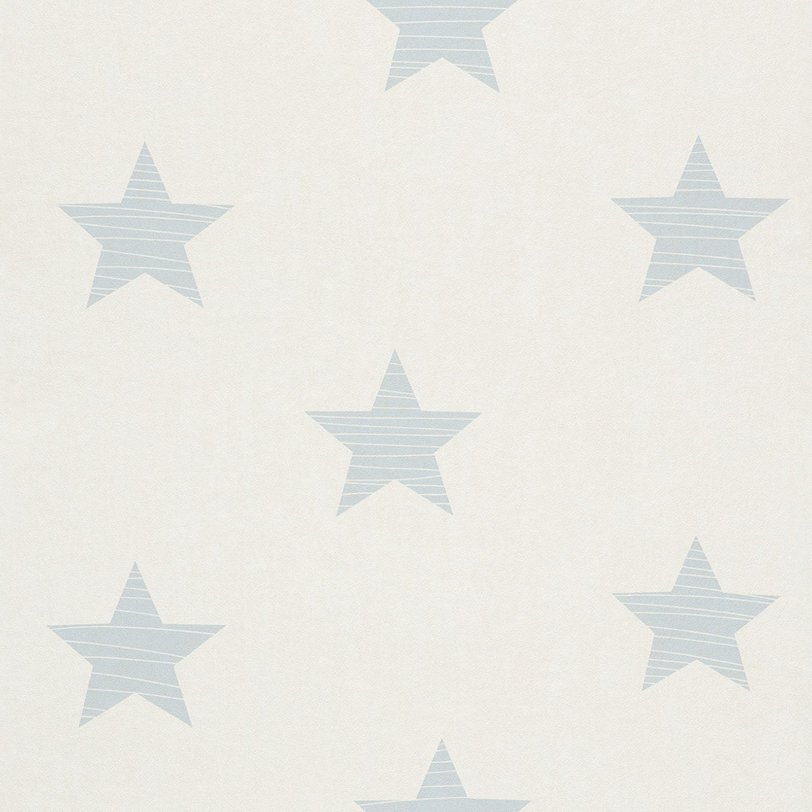 Grey Star Wall Decor : Rasch stars wallpaper wall decor grey blue white and