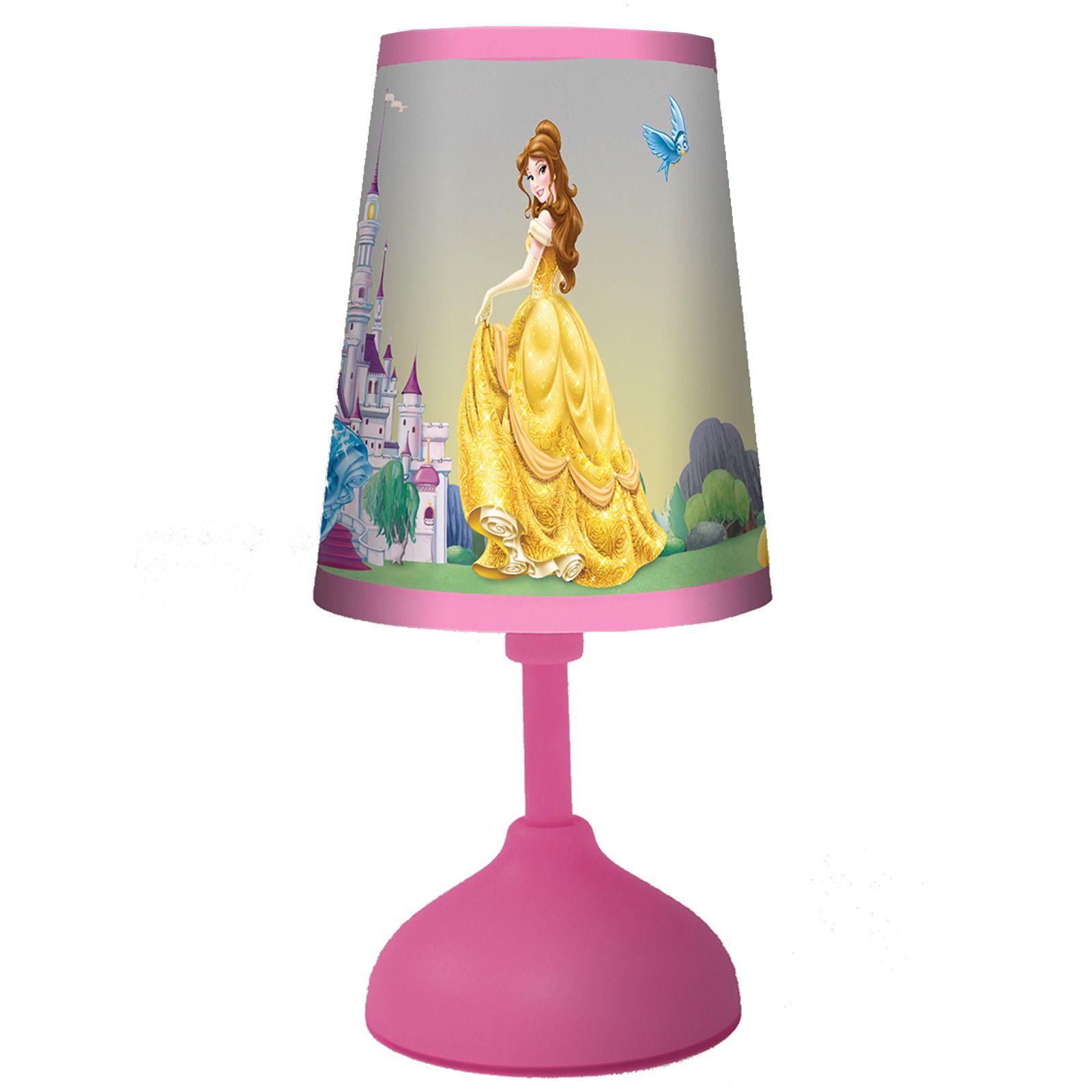 Disney Table Lamp : Disney princess mini table lamp light new official ebay