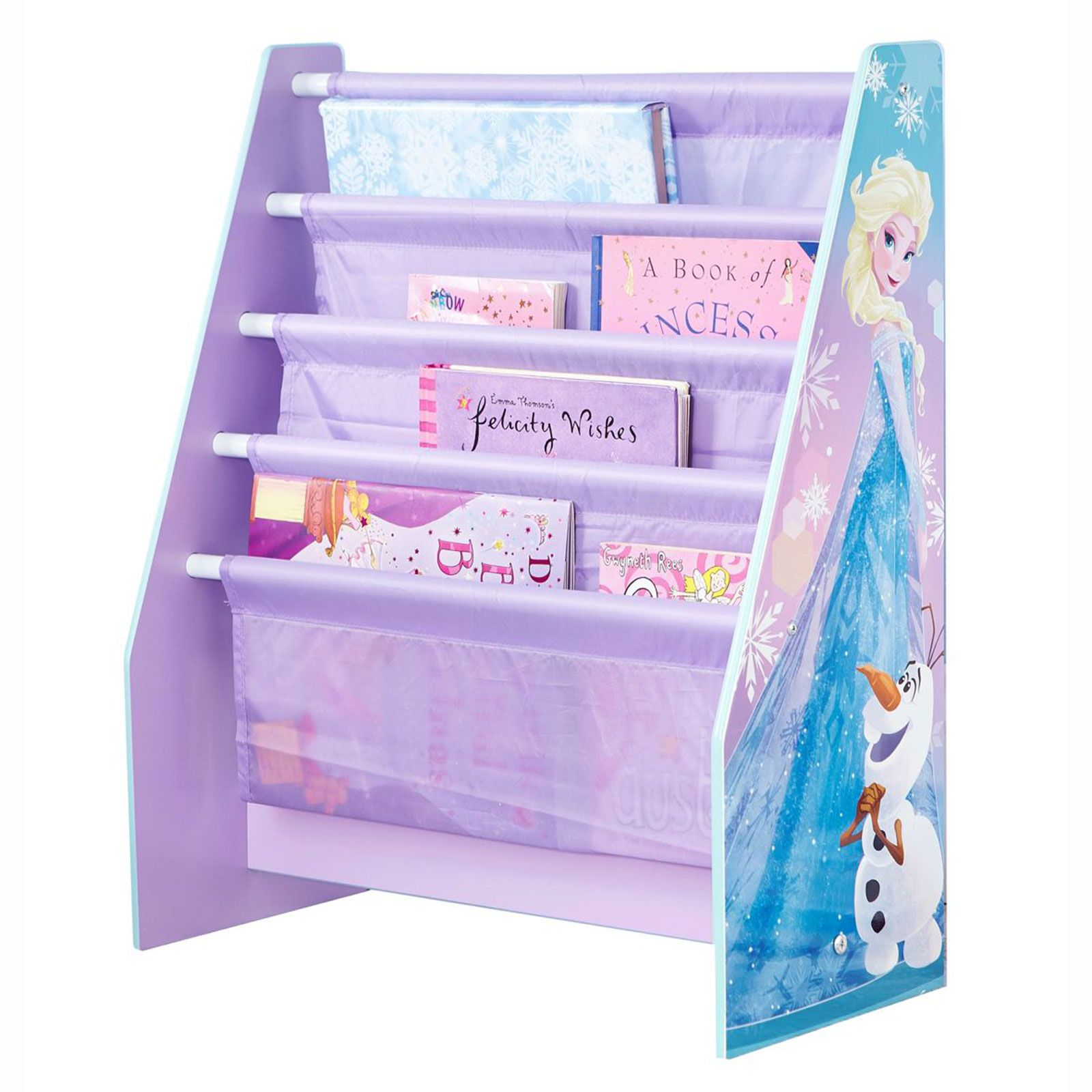 Character sling bookcase bedroom storage peppa thomas - Reine des neiges chambre ...