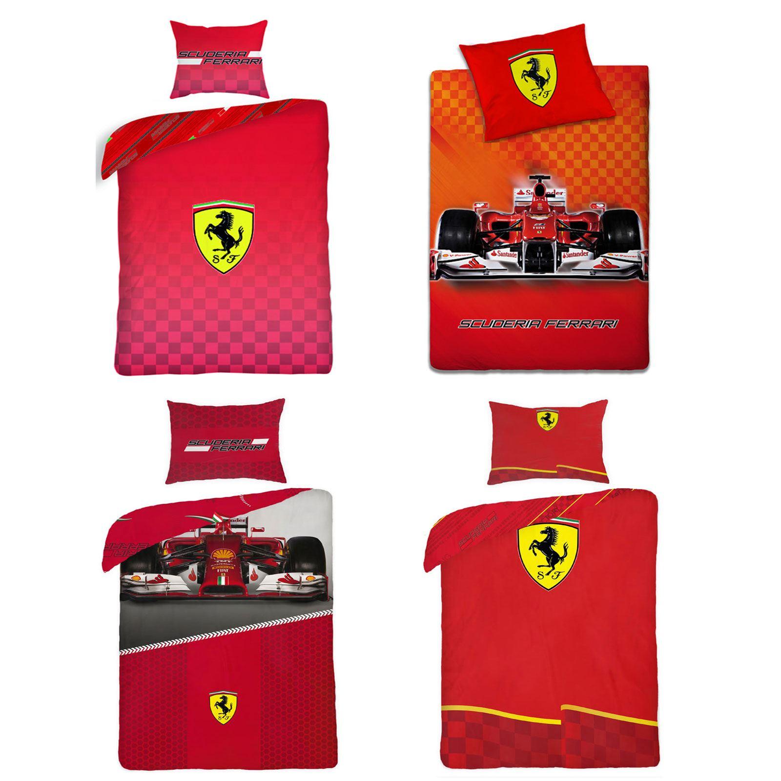 Ferrari Bedding Duvet Cover Sets