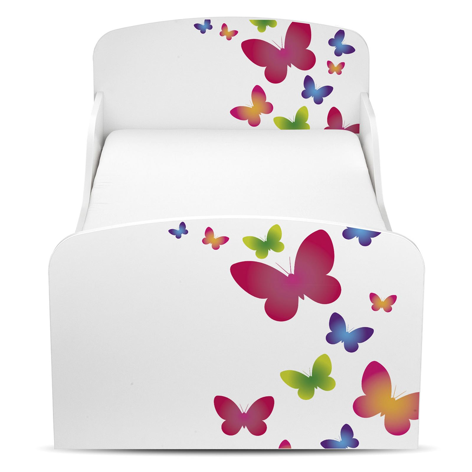 papillons mdf lit enfant b b de luxe matelas neuf enfants ebay. Black Bedroom Furniture Sets. Home Design Ideas