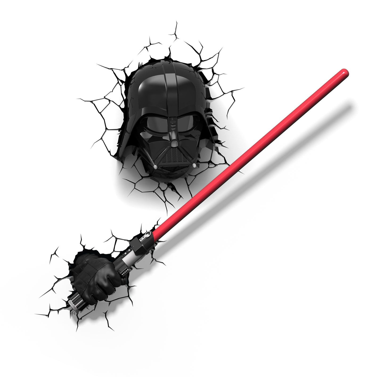 Star Wall Stickers Uk Star Wars Darth Vader S Lightsaber 3d Led Wall Light