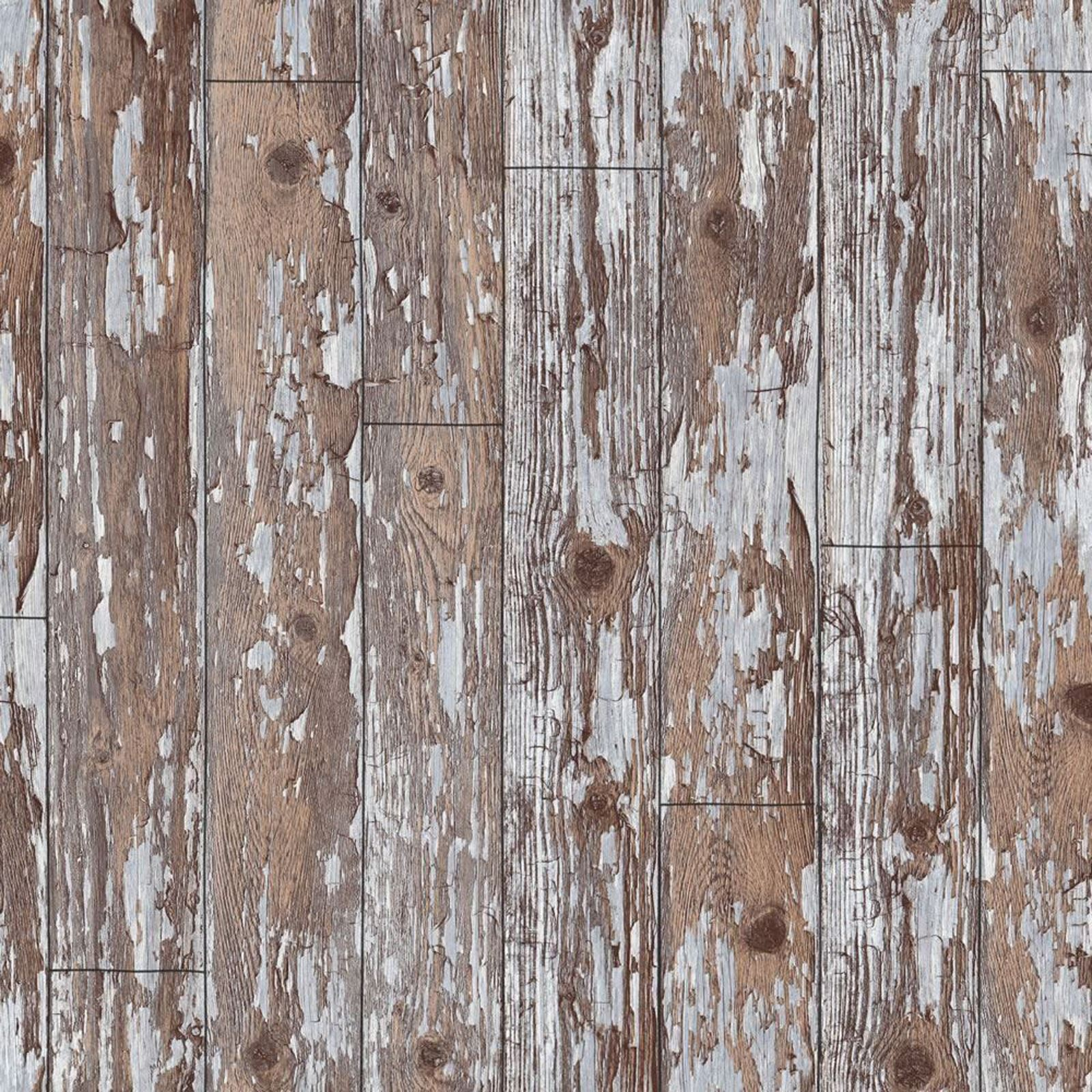 Distressed cabin wood wallpaper arthouse vip 622009 for Wooden wallpaper for home