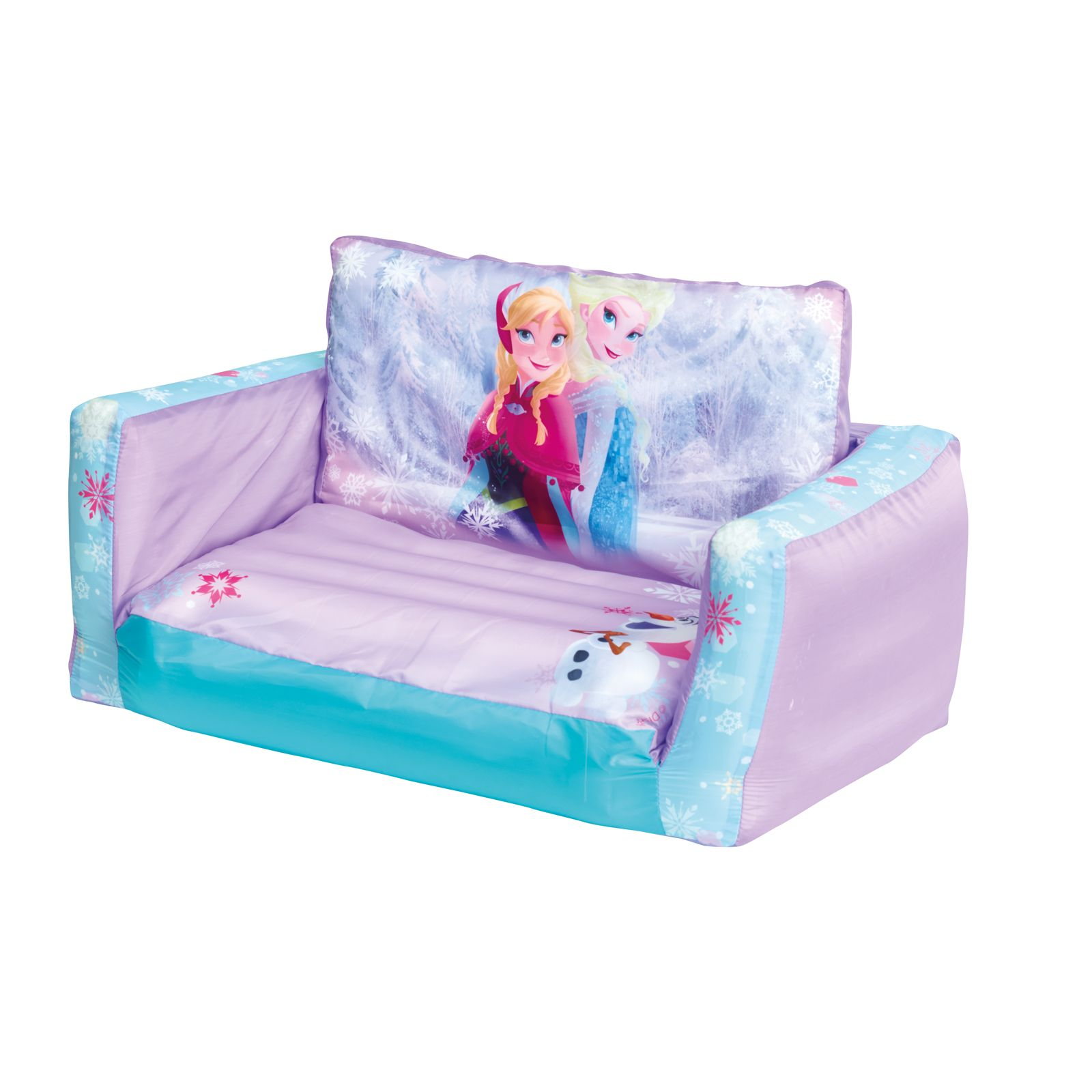 Disney frozen flip out sofa sofa bed new inflatable kids ebay Toddler flip out sofa couch bed