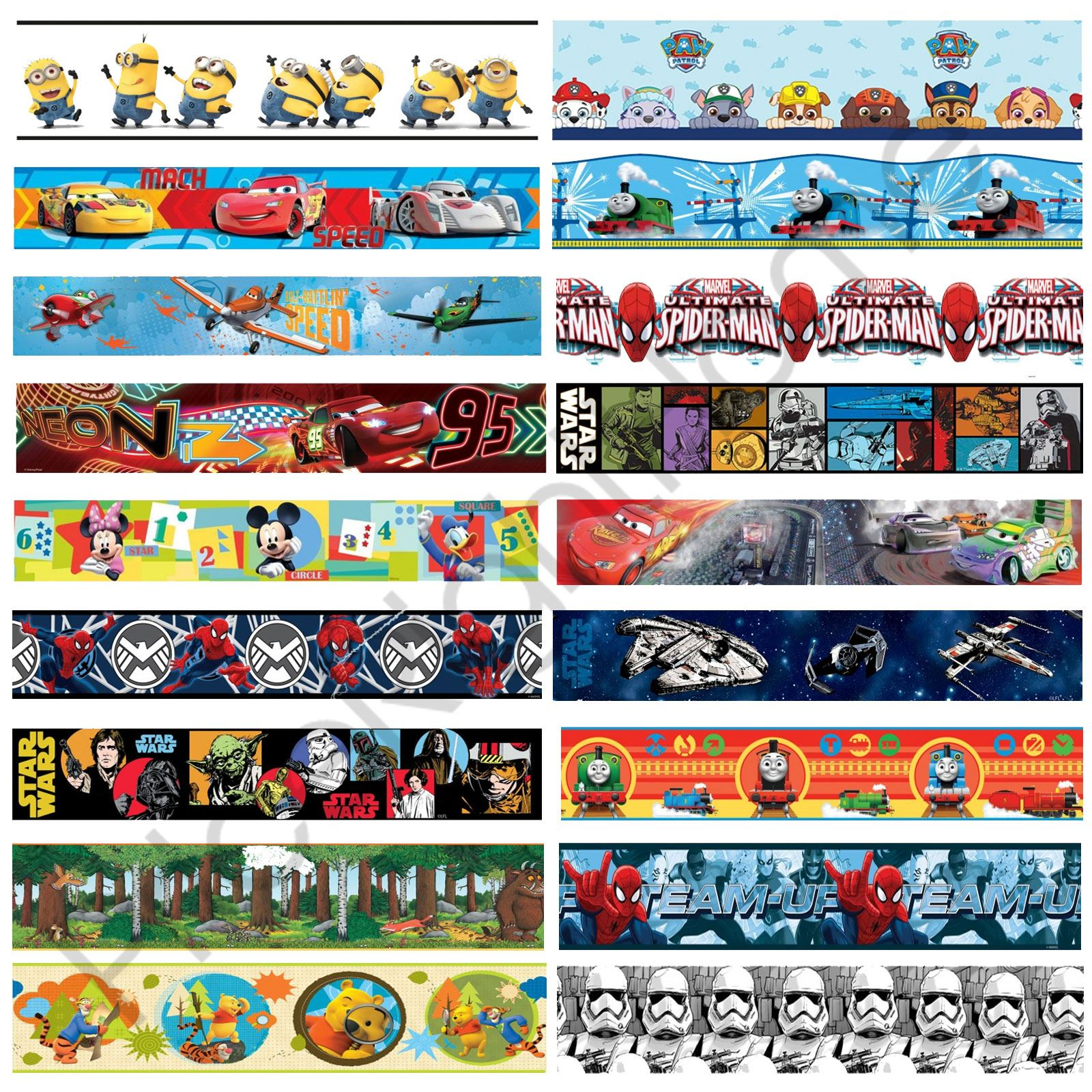 Selbstklebende Tapete Cars : Boys Star Wars Wall Decor