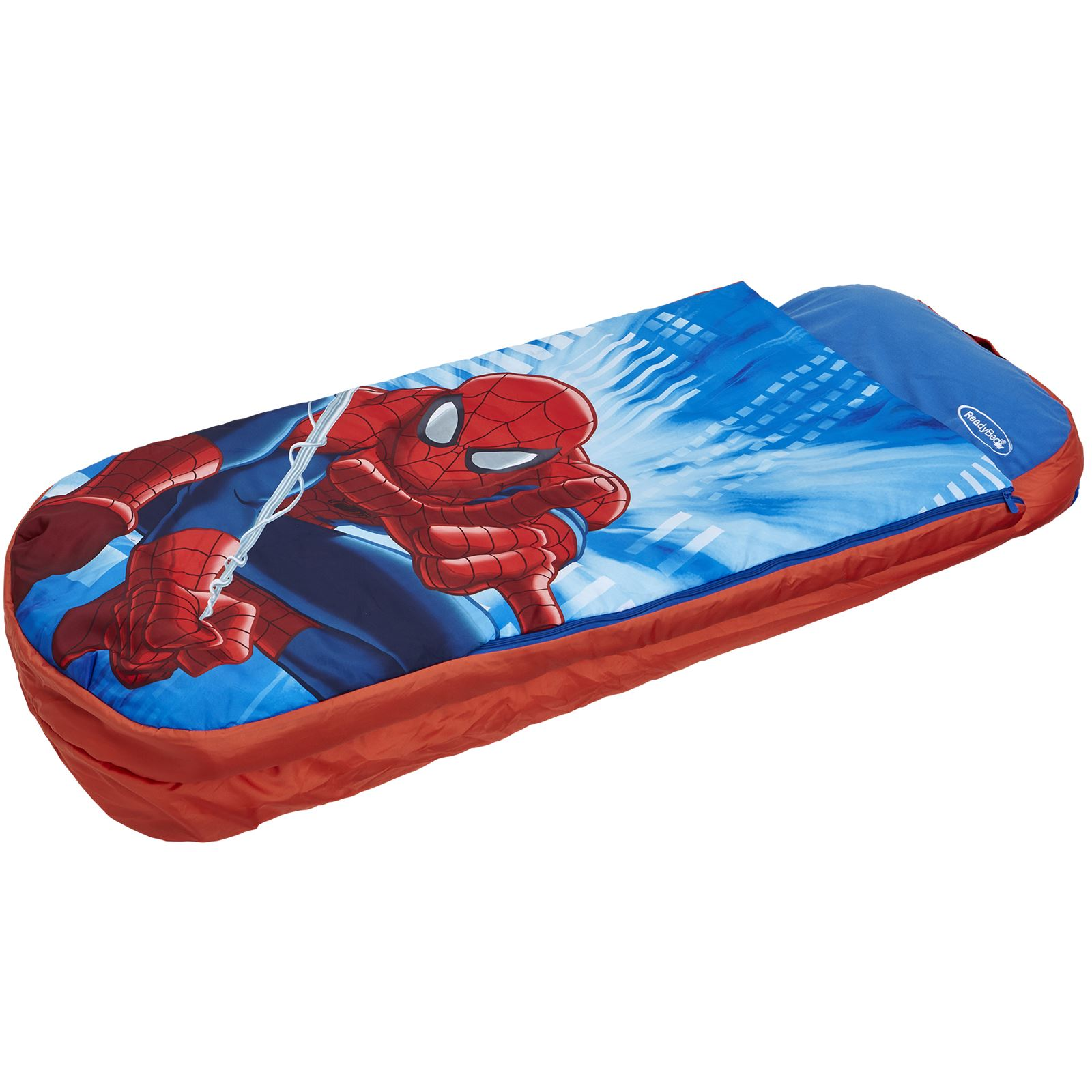 Spiderman Ready Bed Inflatable Sleeping Bag