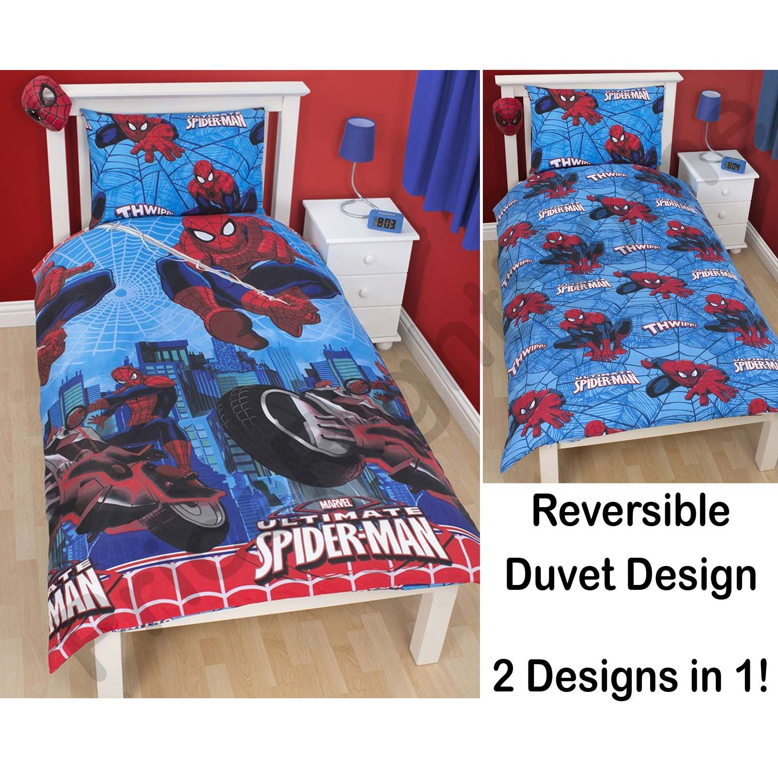 Spider Man 39 City 39 Duvet Cover 100 Official Single Rotary