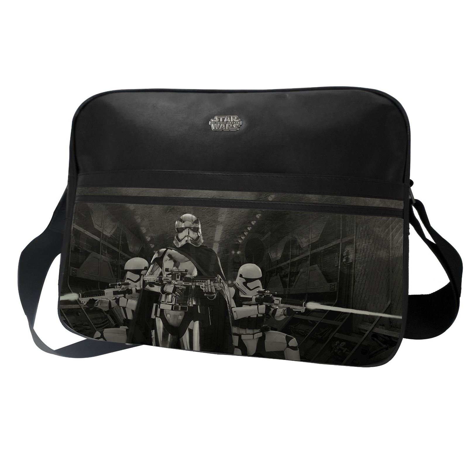 star wars episode vii sturmtruppler kuriertasche works college kinder neu ebay. Black Bedroom Furniture Sets. Home Design Ideas