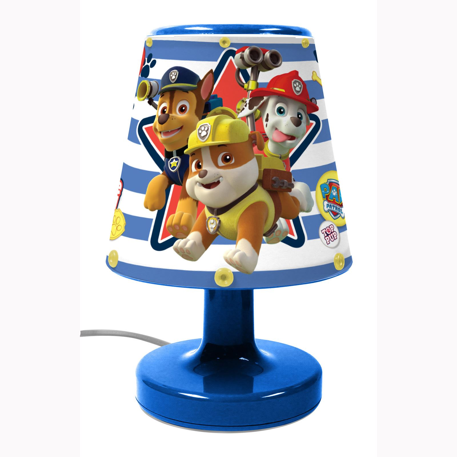 paw patrol kinder schlafzimmer beleuchtung illumi mate lampe mehr 100 offiziell ebay. Black Bedroom Furniture Sets. Home Design Ideas