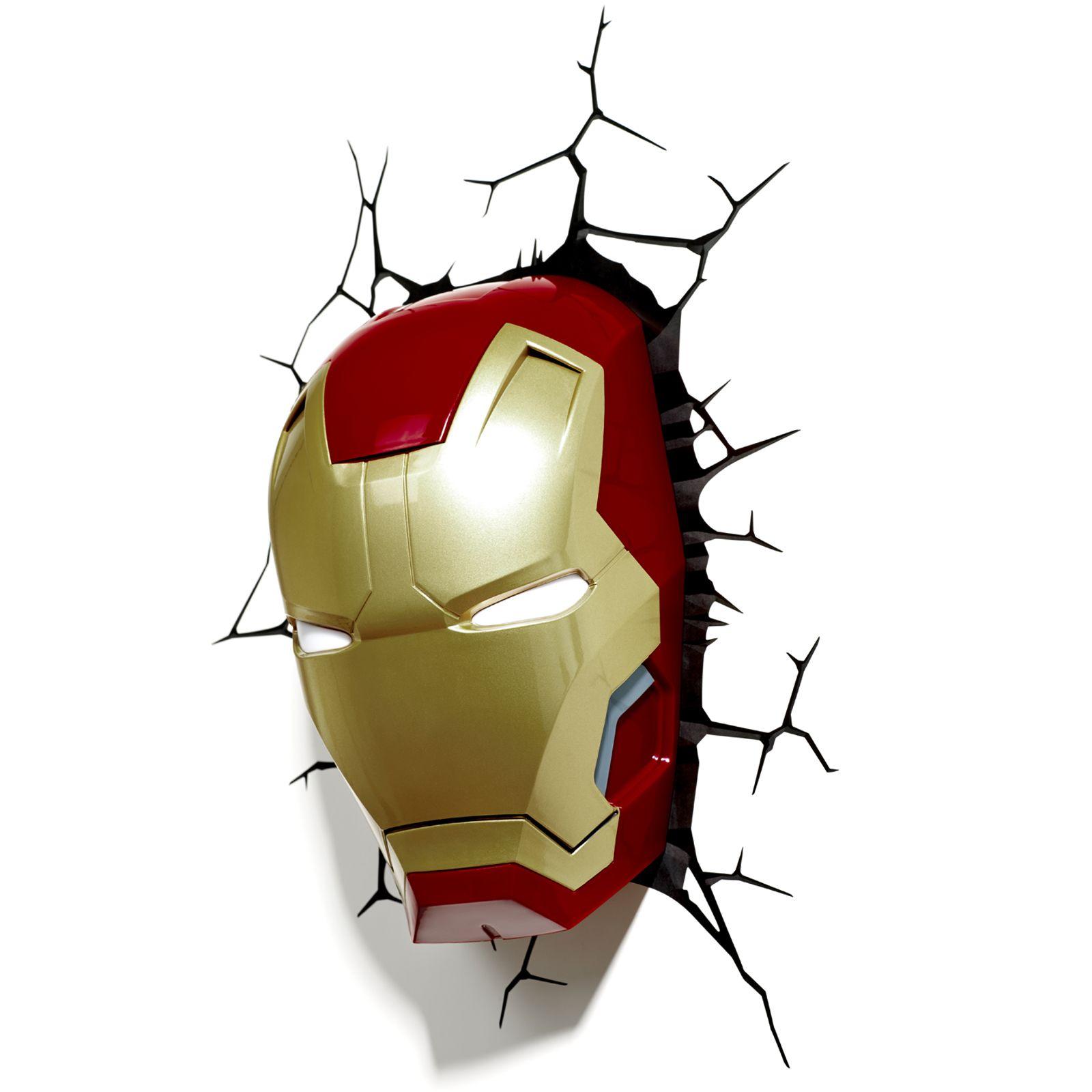 Childrens Marvel Wall Lights : MARVEL AVENGERS 3D WALL LIGHT - HULK, IRON MAN, CAPTAIN AMERICA, THOR, SPIDERMAN eBay