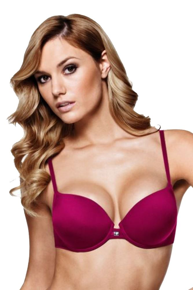 TRIUMPH TRENDY PUSH-UP WHU UNDER WIRED PUSH UP HALF CUP ...