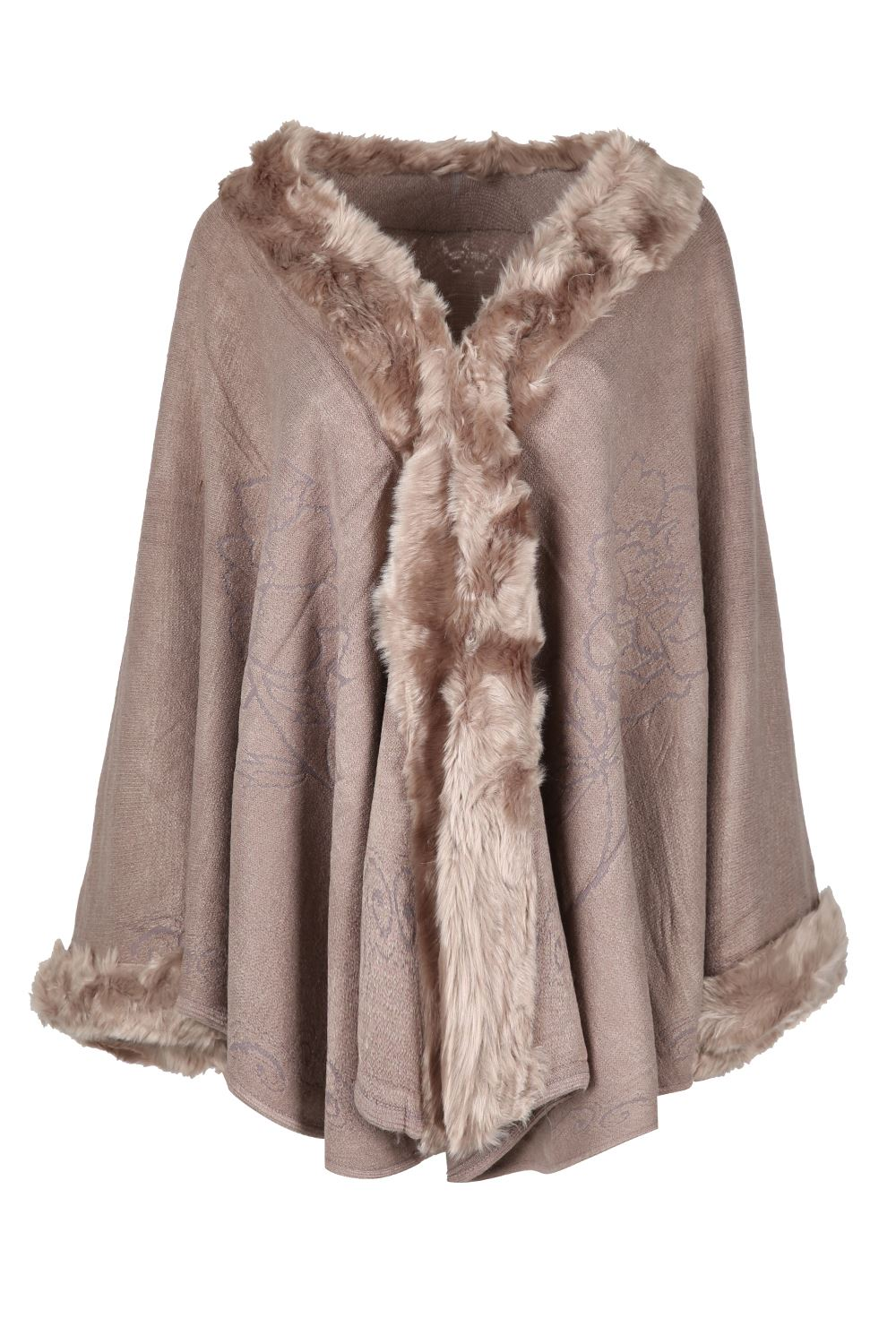 Fur wraps and shawls for women 2019