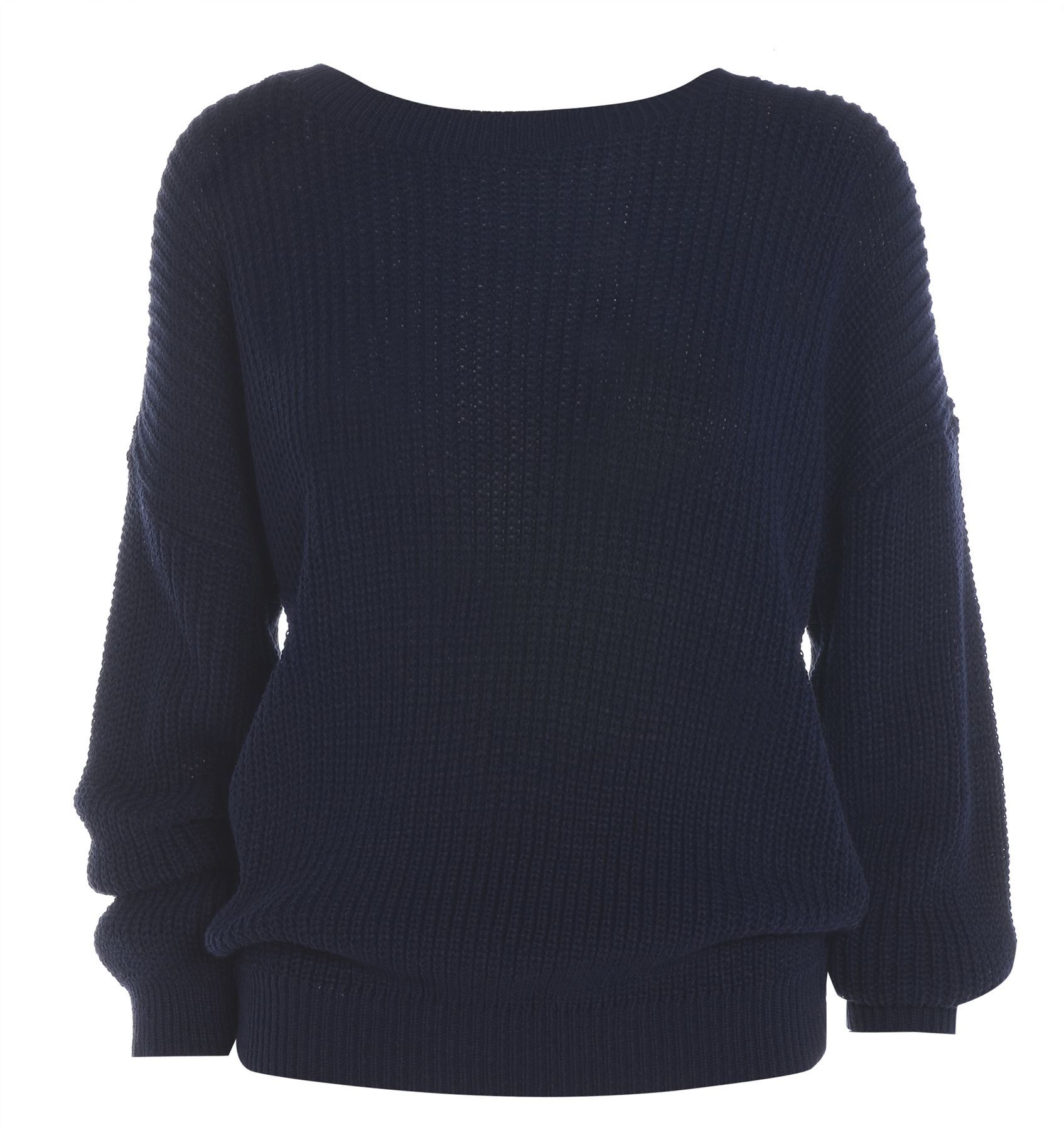 New Ladies Womens Oversized Chunky Sweater Baggy Knitted Jumper Top eBay