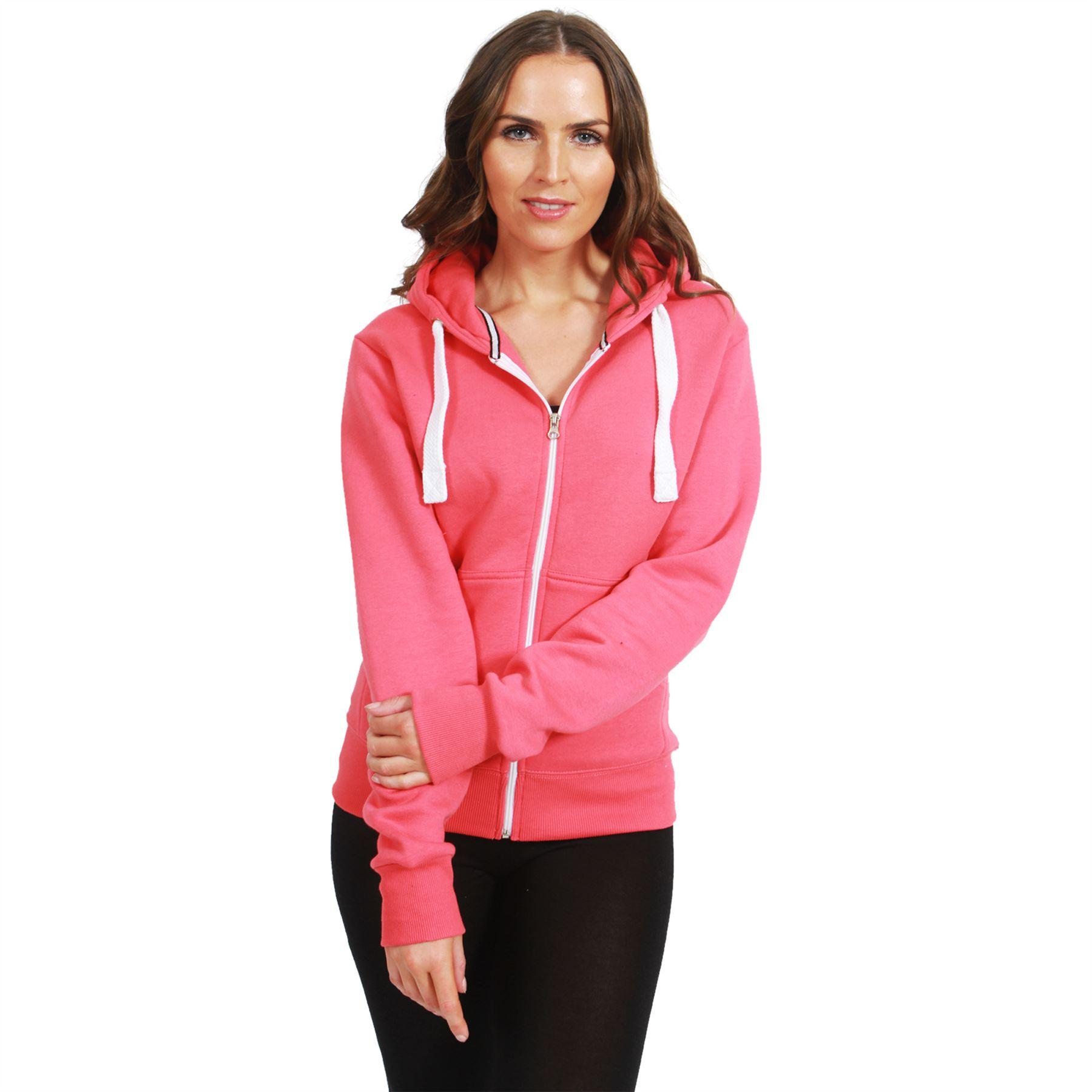 Zipper hoodies for women