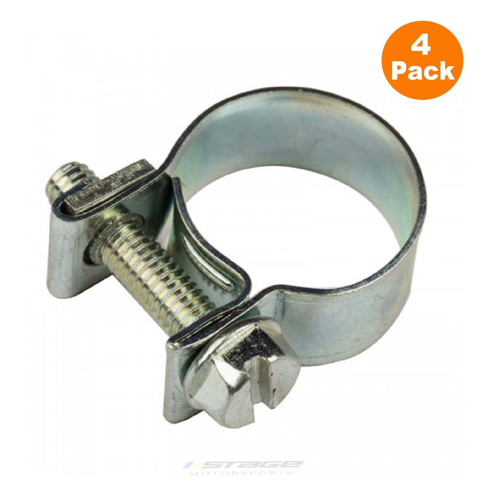 Mini hose clamps stainless steel clips for air fuel water
