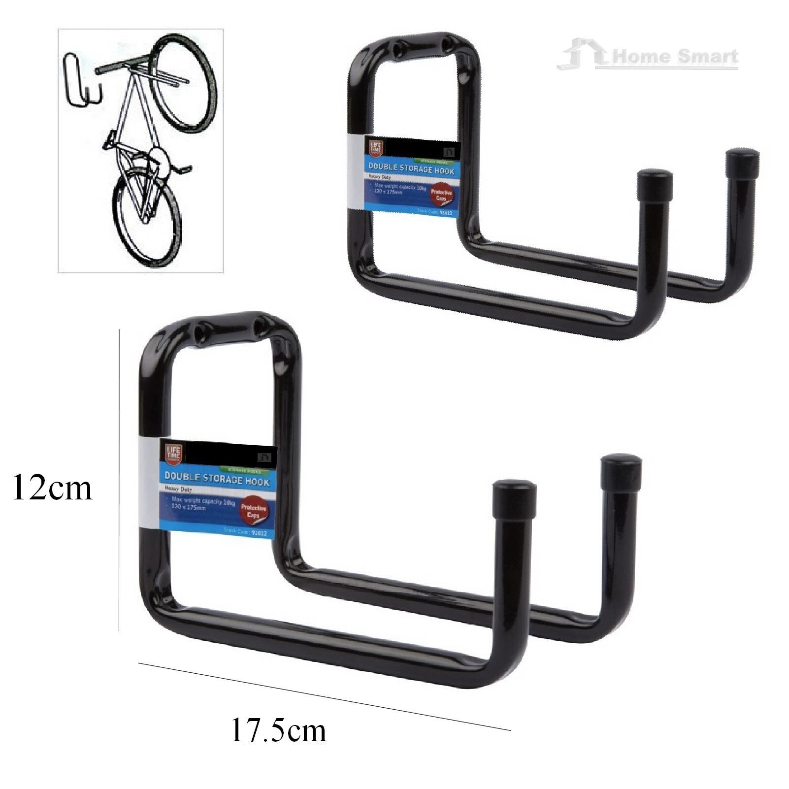 Storage Hooks Wall Mounted Ladder Bike Garage Shed Utility
