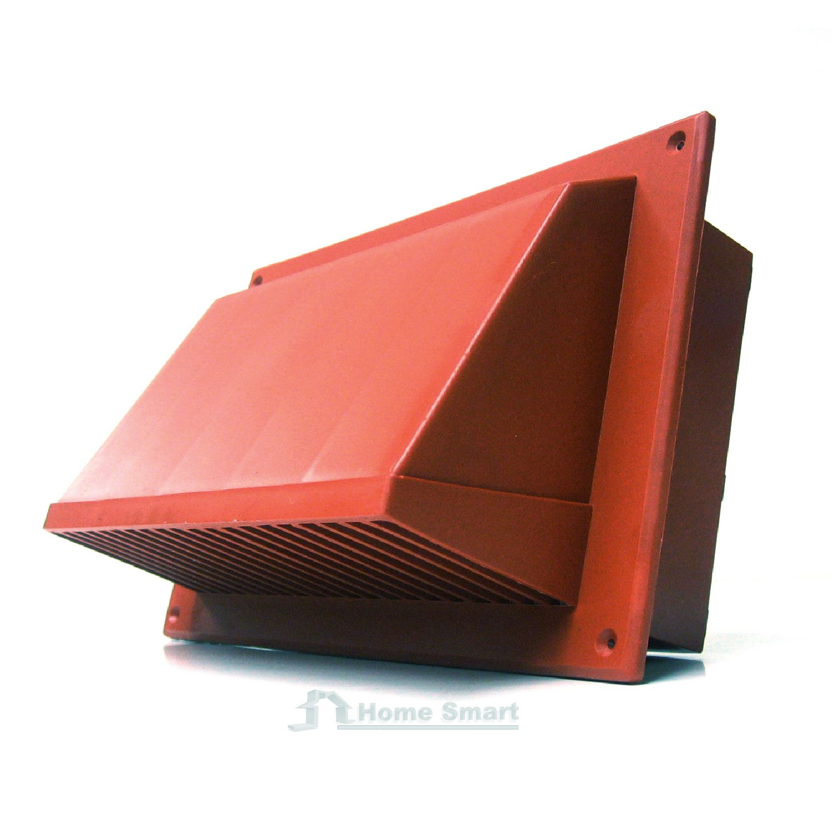 Quot terracotta replacement cowl cover for air bricks