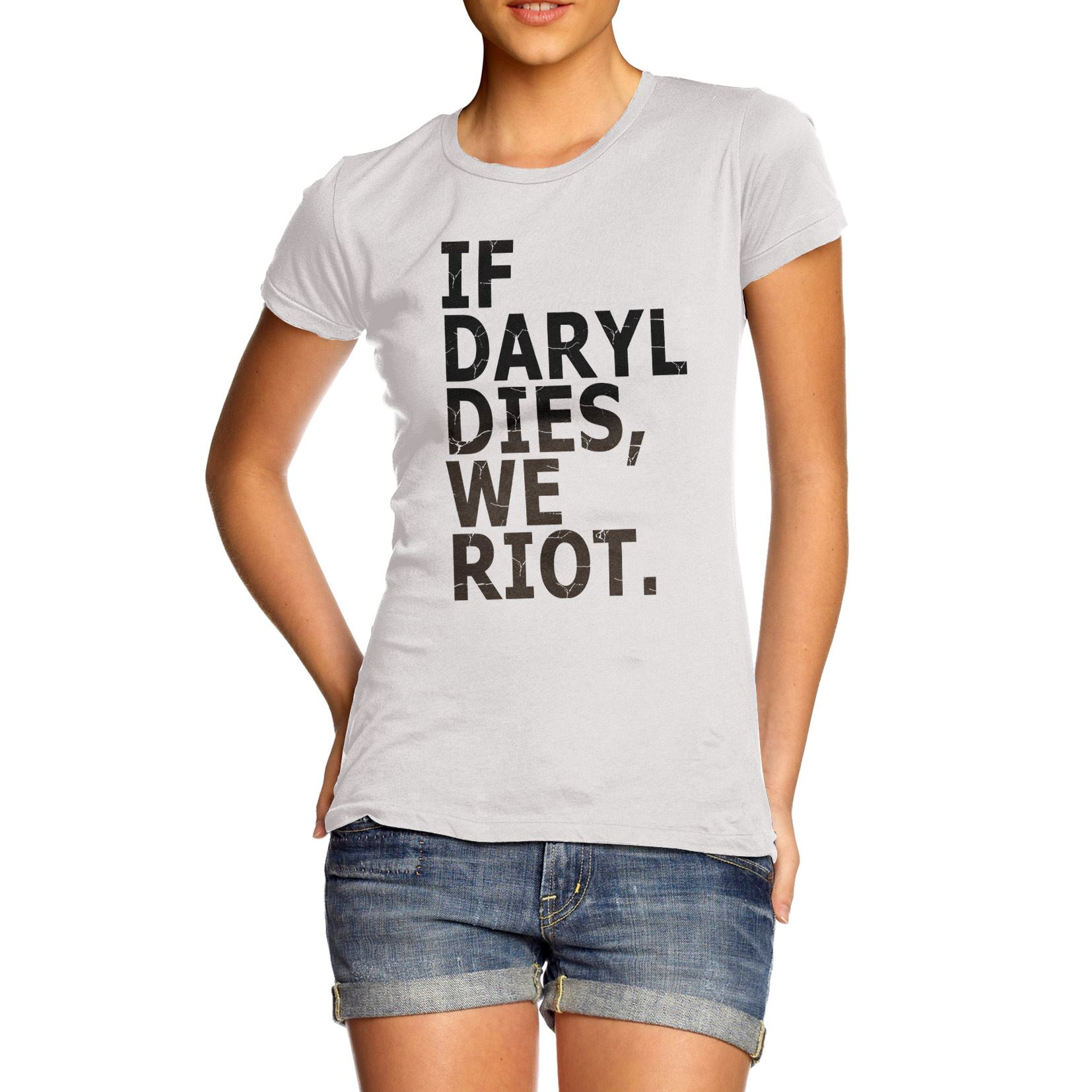 Daryl Dies Shirt Design-if-daryl-dies-we