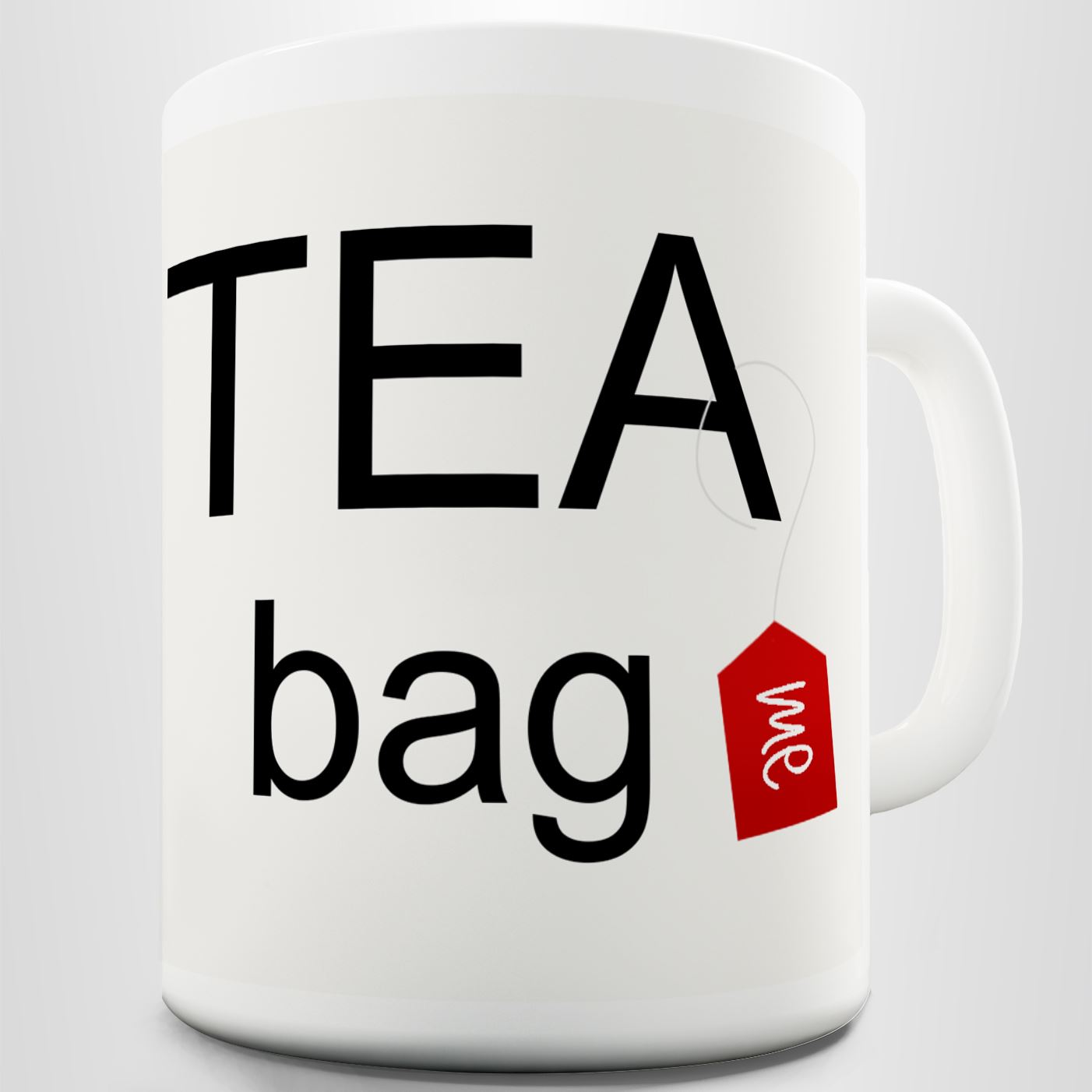 Tea Bag Tea Lovers Funny Printed Mug | eBay