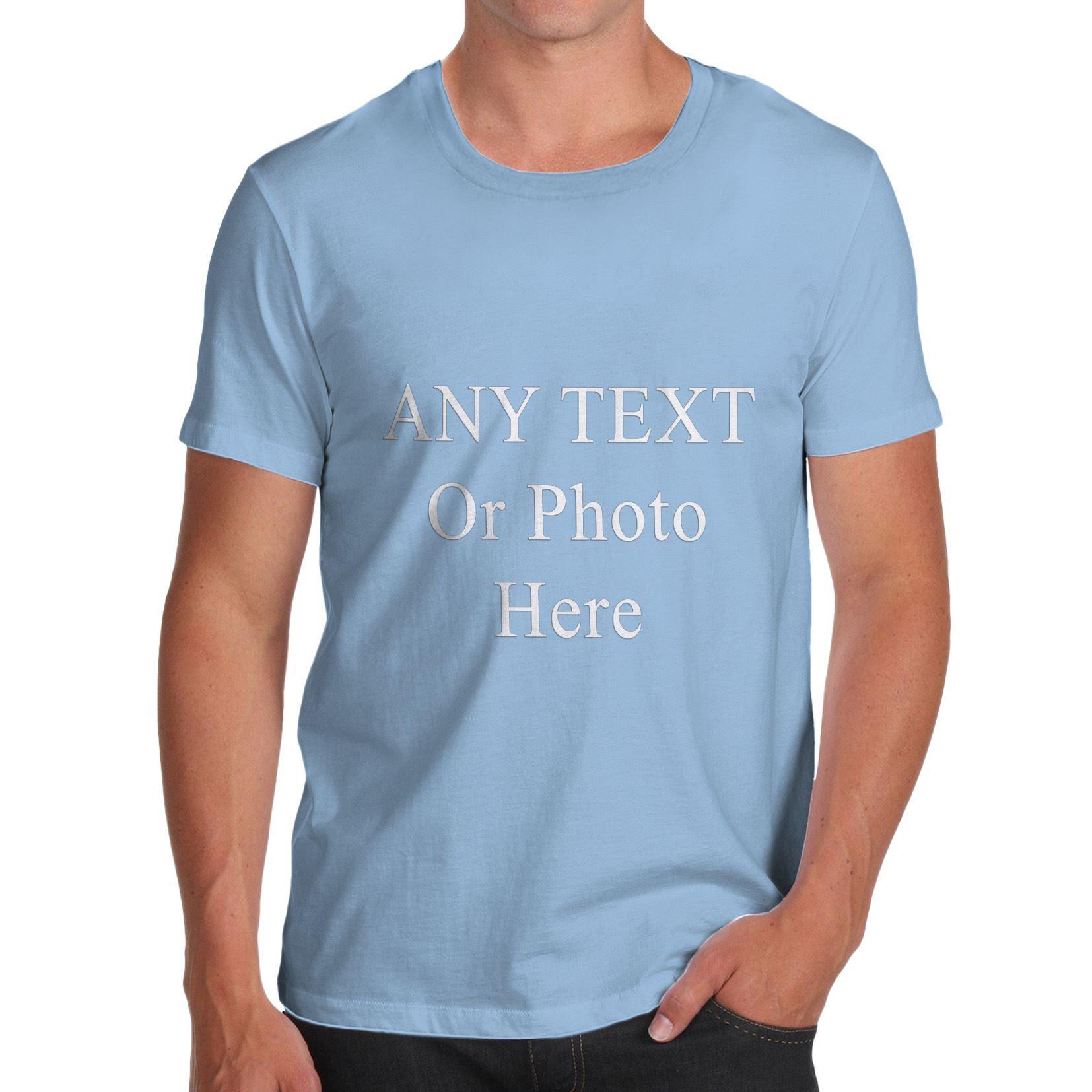 Mens custom printed personalised t shirts tee shirt stag for Custom printed t shirts