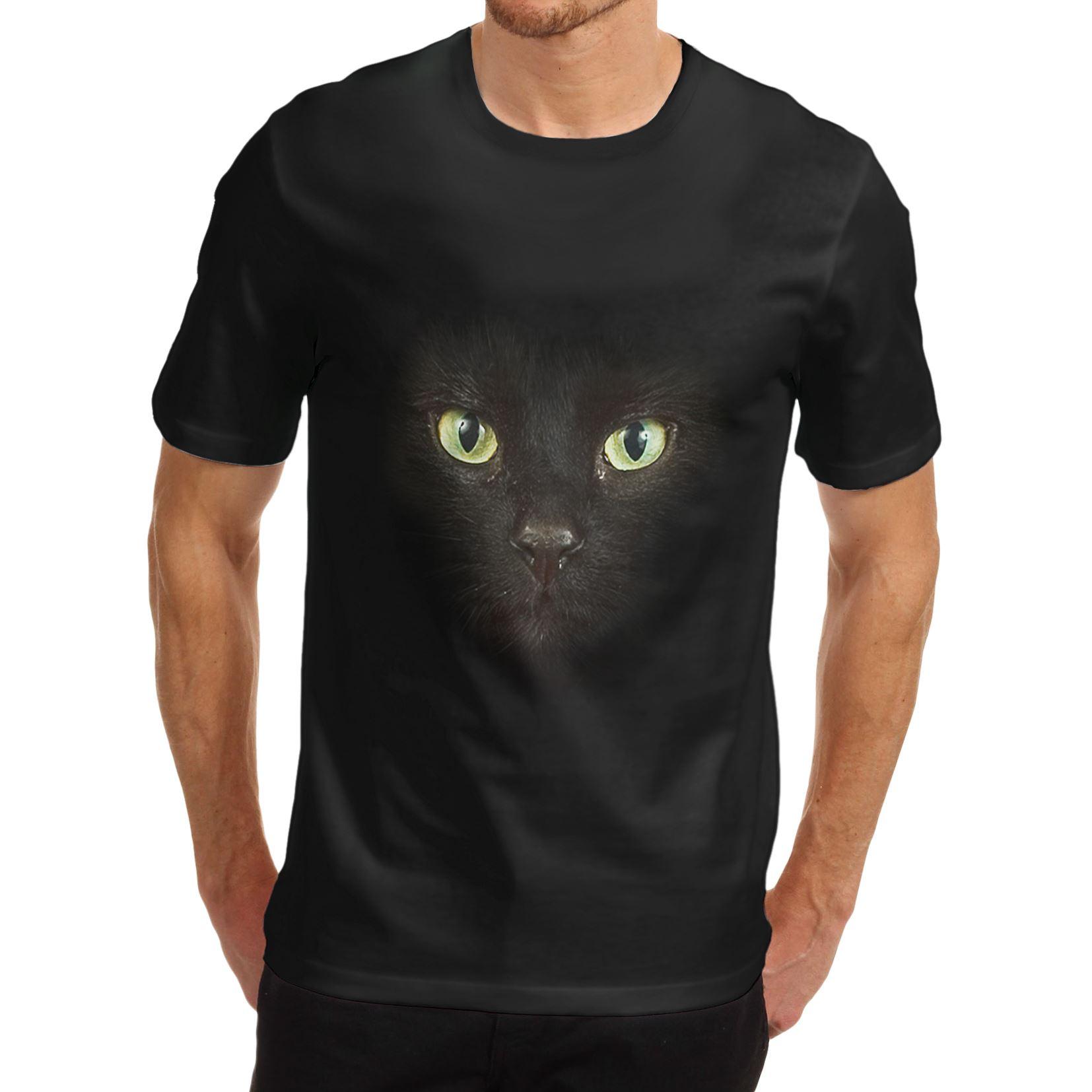 Cat Face t Shirts Cat Face Print T-shirt