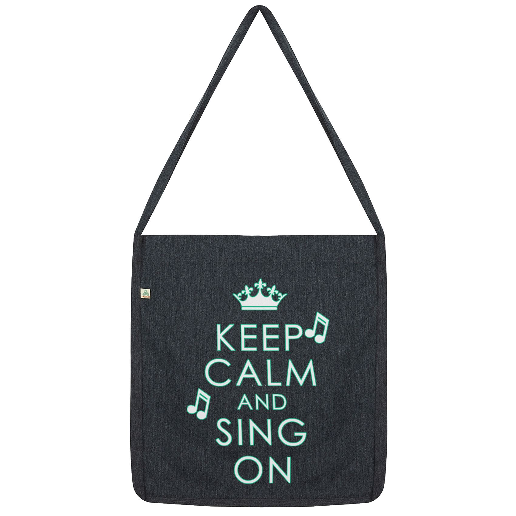 details about twisted envy keep calm and sing on tote bag