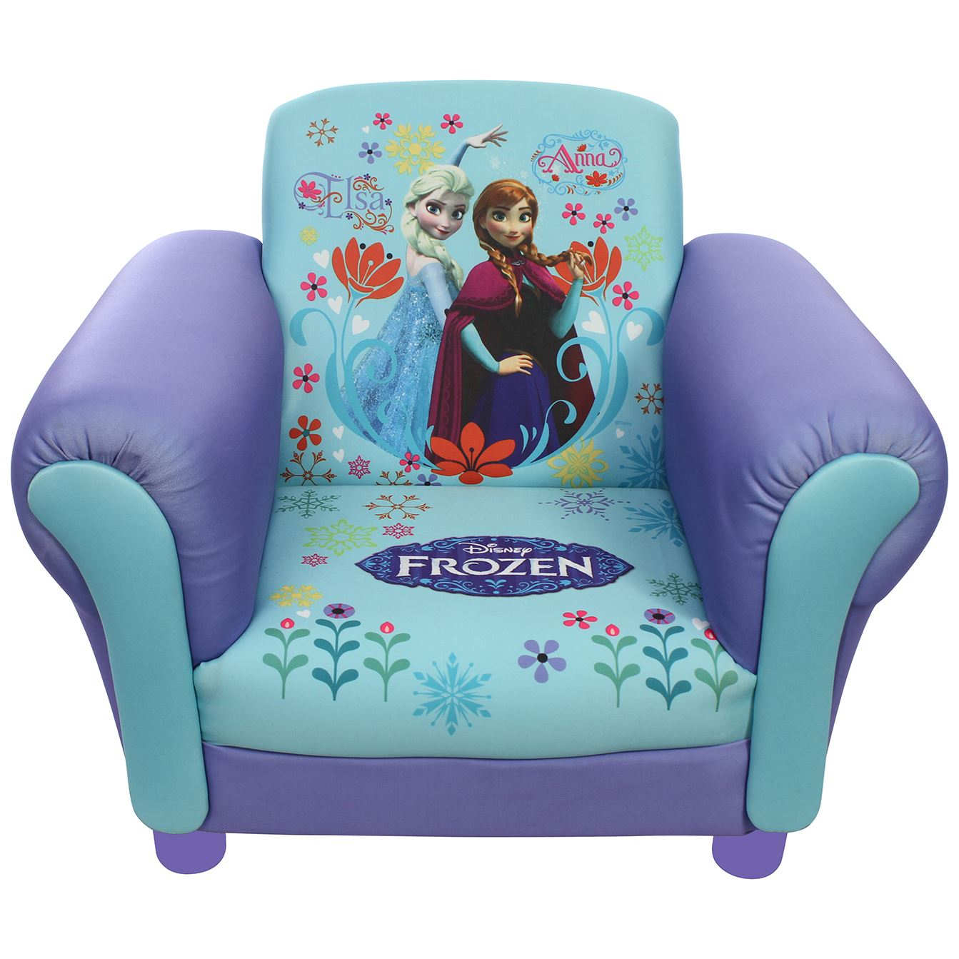 Disney Princess Armchair: Childrens Disney Kids Frozen Anna & Elsa Mickey Mouse