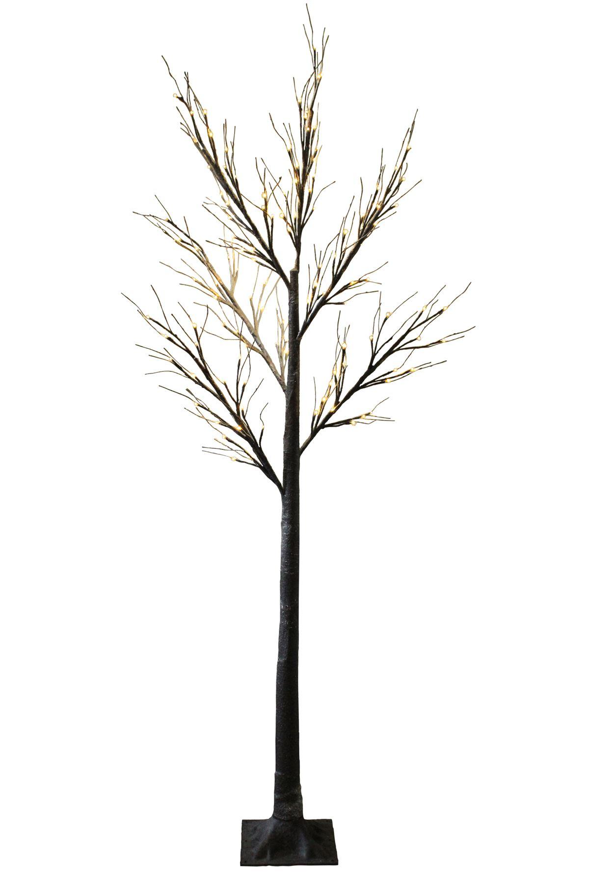christmas pre lit twig 120 led floor standing 7ft 210cm 70cm outdoor indoor tree