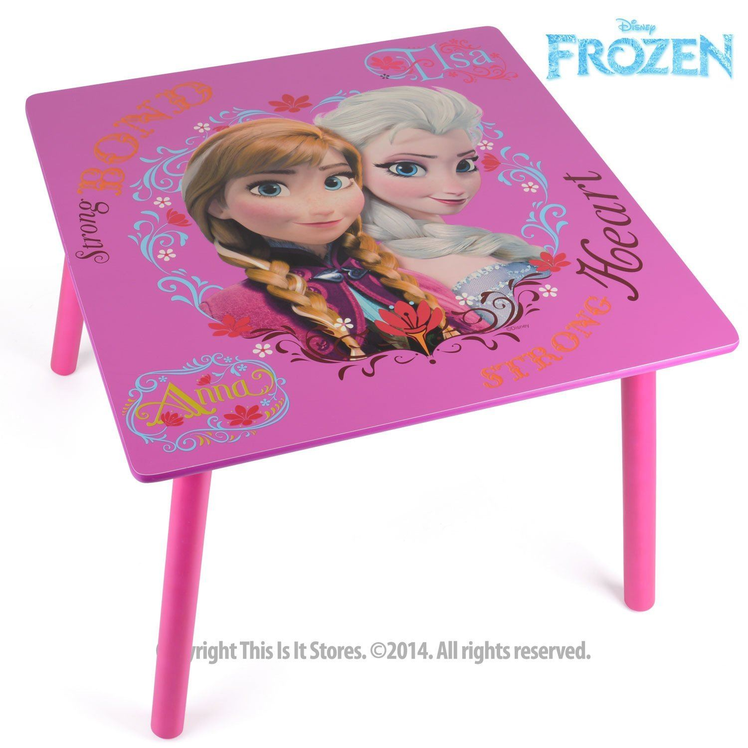 Disney Princess Frozen Furniture Table And Chairs Set