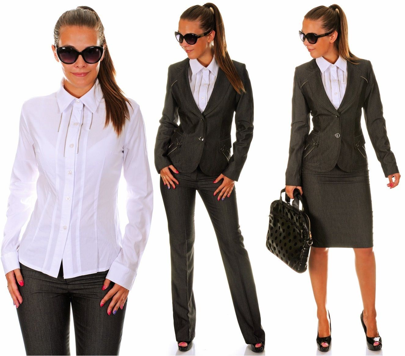 Traje chaqueta mujer trabajo