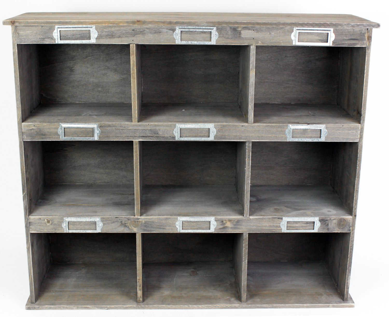 Wooden kitchen living room home storage shelving cubby - Wooden kitchen shelf unit ...