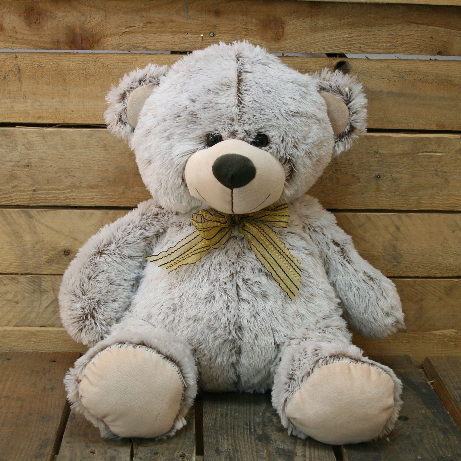 Large 55Cm Super Cuddly Plush Sitting Teddy Bear Soft Toy