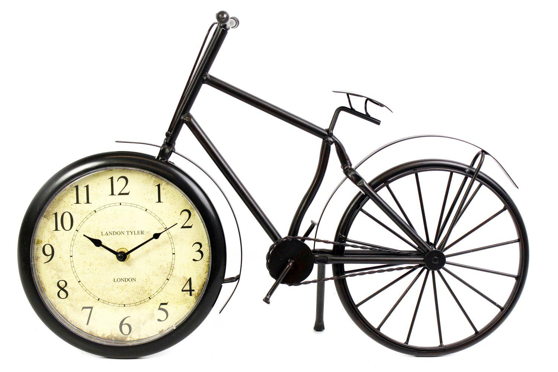 Black Metal Vintage Style Traditional Bicycle Freestanding