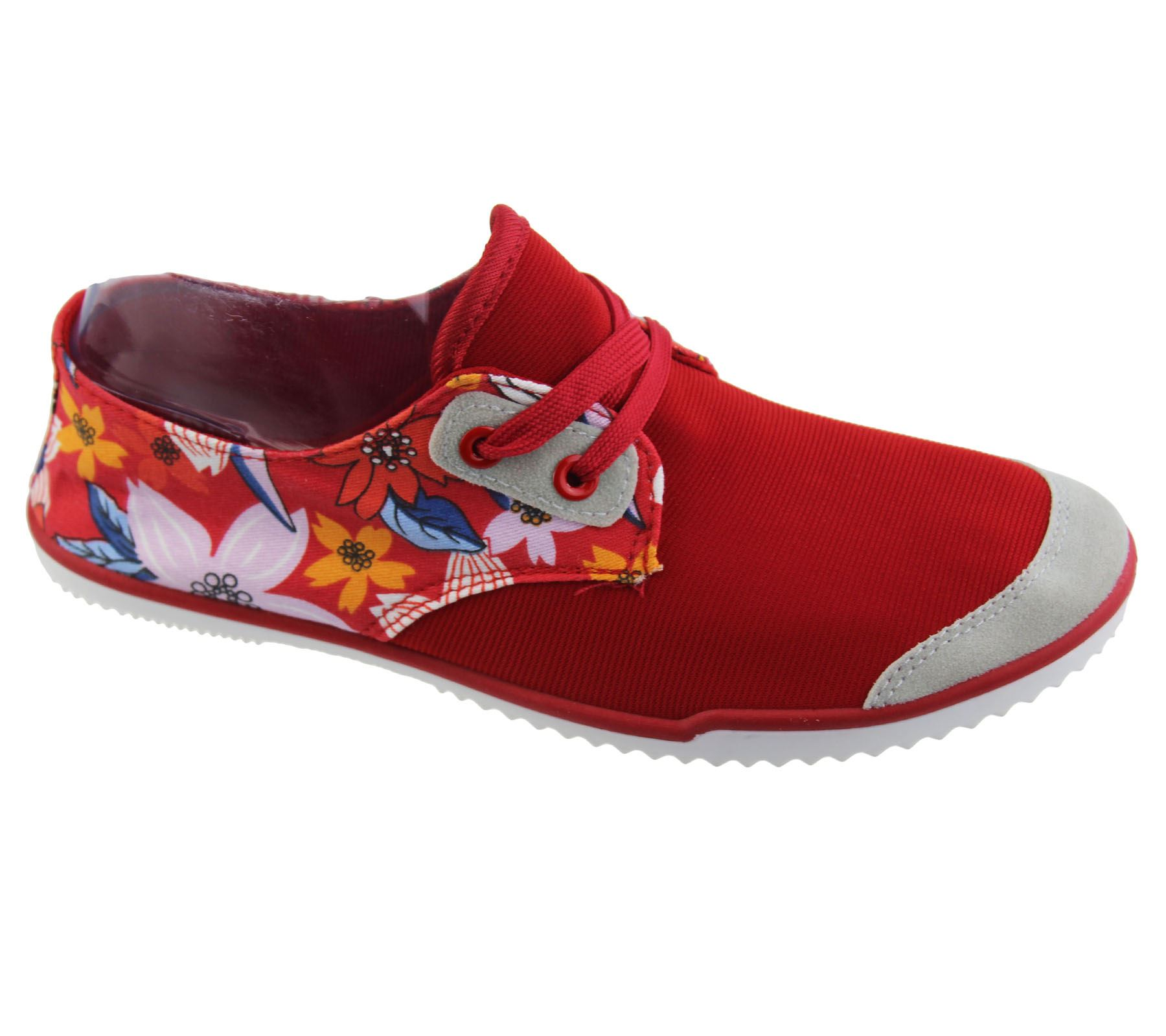 View all ladies footwear Browse through our amazing range of ladies canvas shoes for a great casual, sporty look. Our womens canvas shoes features top brands such as SoulCal, Miss Fiori, Converse, Skechers, Vans and lots more at low prices.