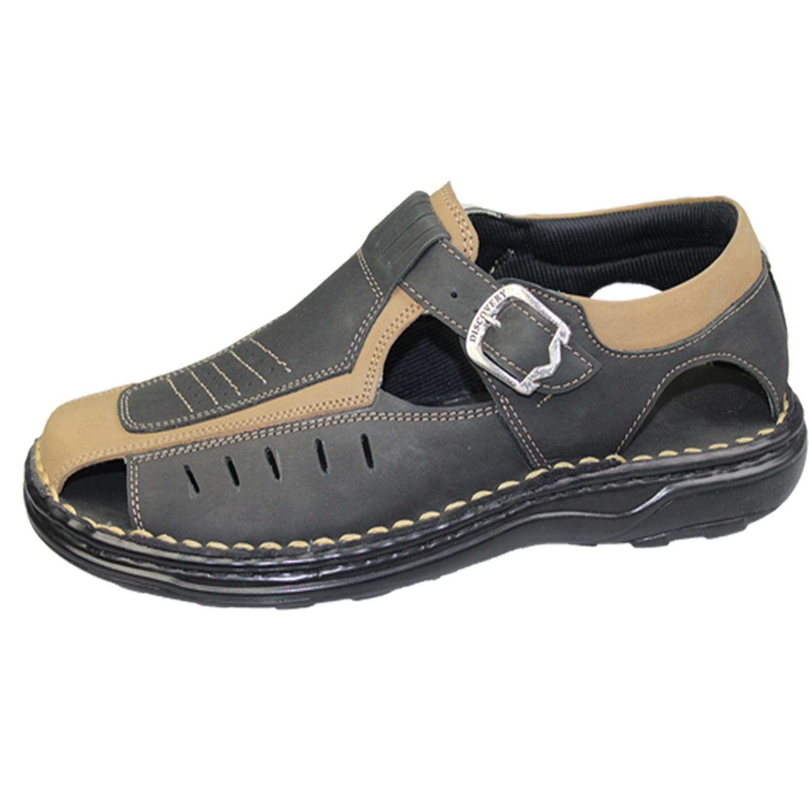 Mens Buckle Sandals Walking Fashion Casual Summer Beach ...