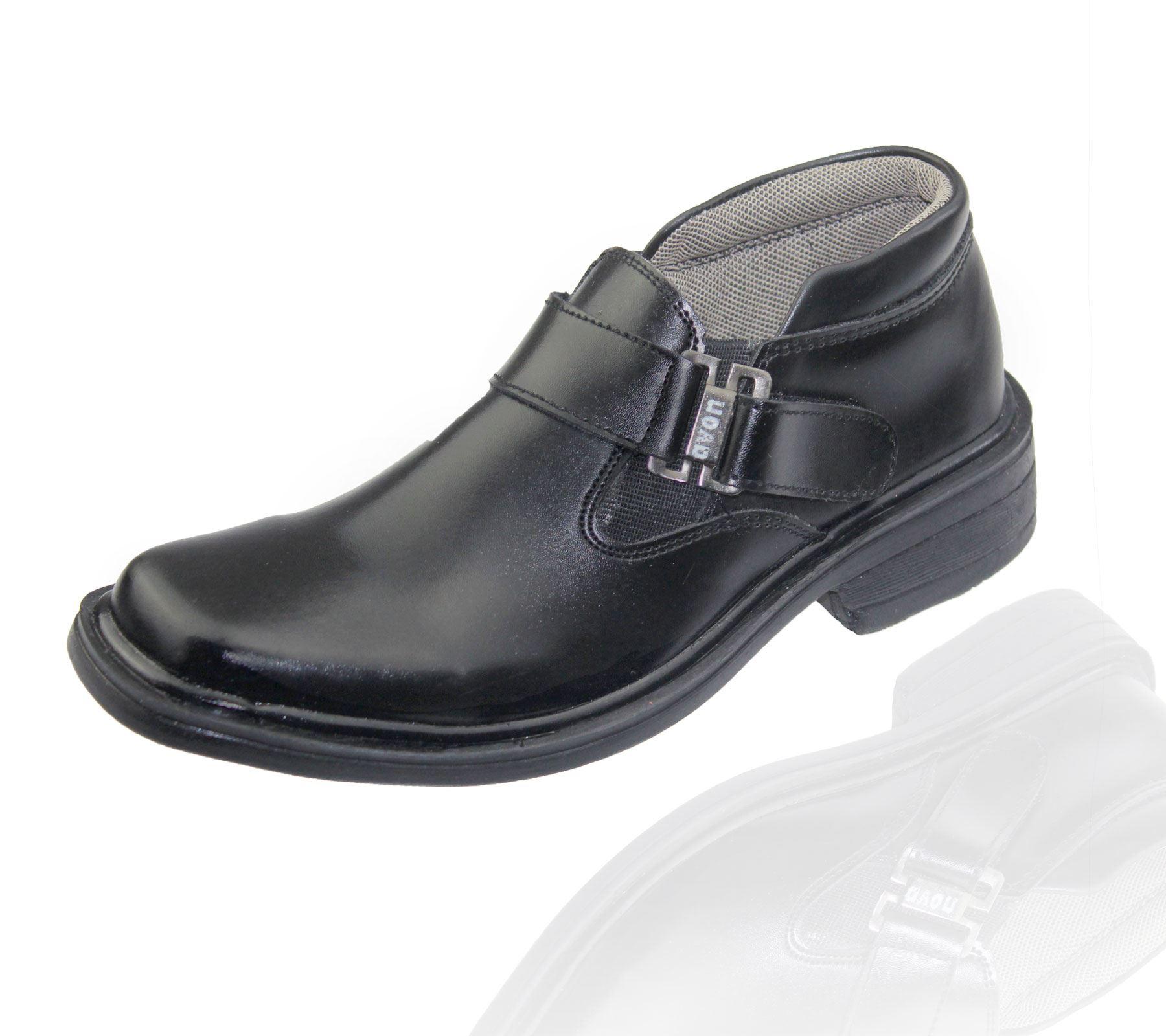 Zapatos De Escuela Niños Boda Formal Vestido Infantil Bautizo Inteligente Negro entrenador