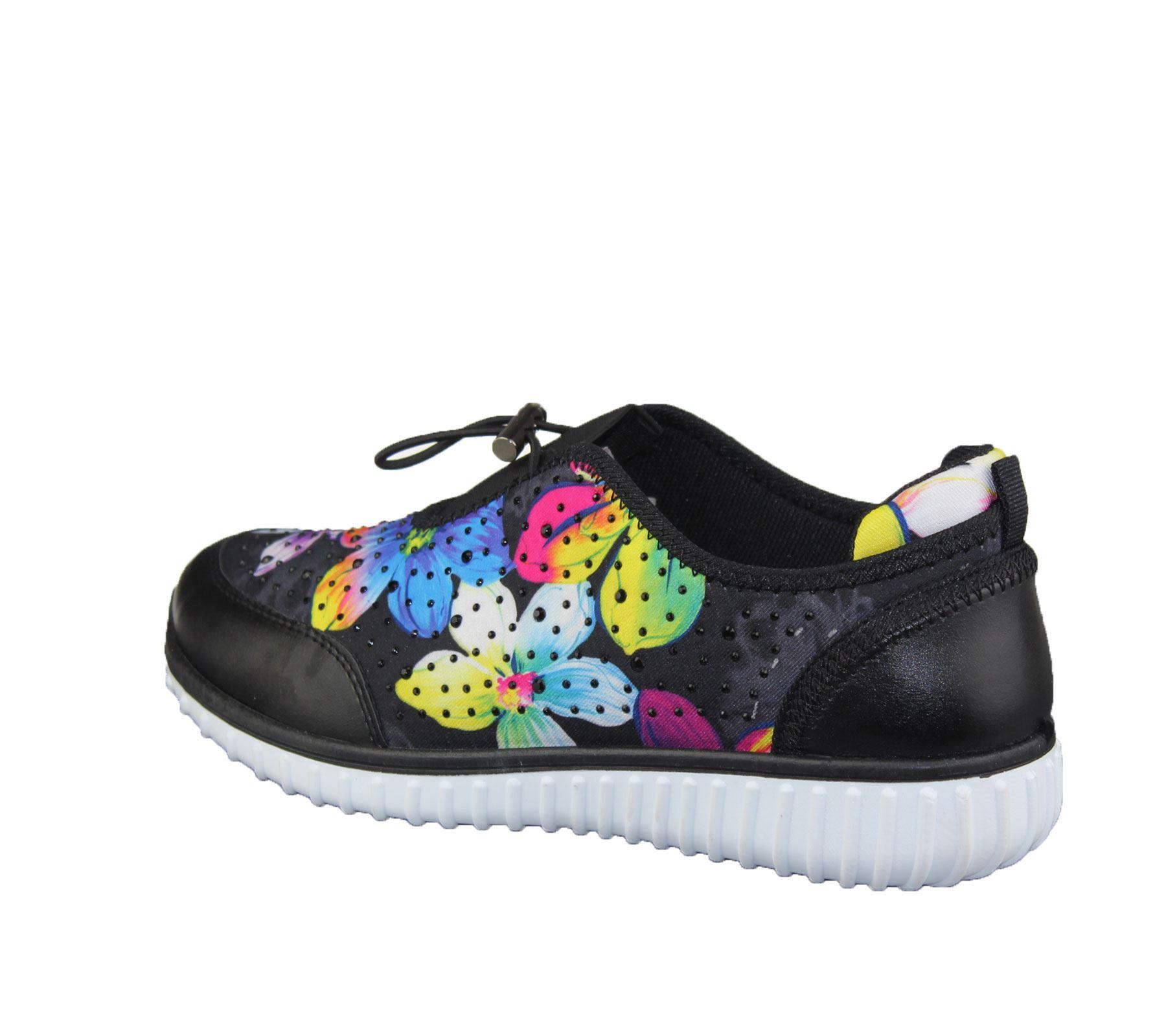 Womens-Trainer-Ladies-Comfort-Walking-Fashion-Summer-Gym-Sport-Flat-Shoes-Size thumbnail 4