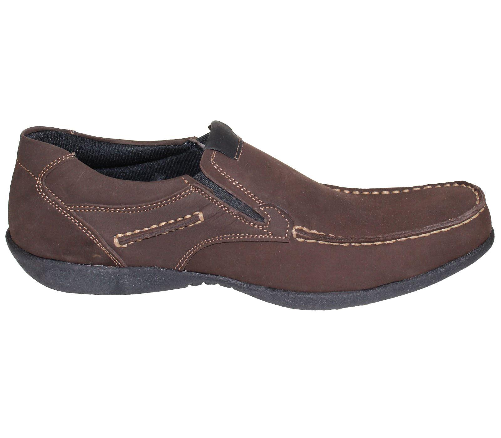 mens slip on shoes casual moccasins loafer walking comfort
