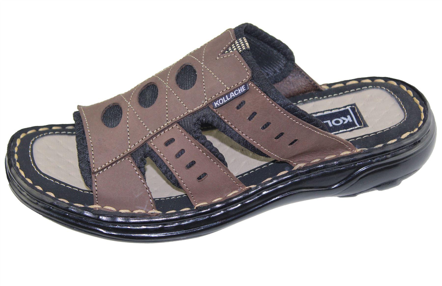 Mens-Slipper-Sandal-Sports-Beach-Buckle-Walking-Fashion-Summer-Casual-Shoes-Size miniatura 20