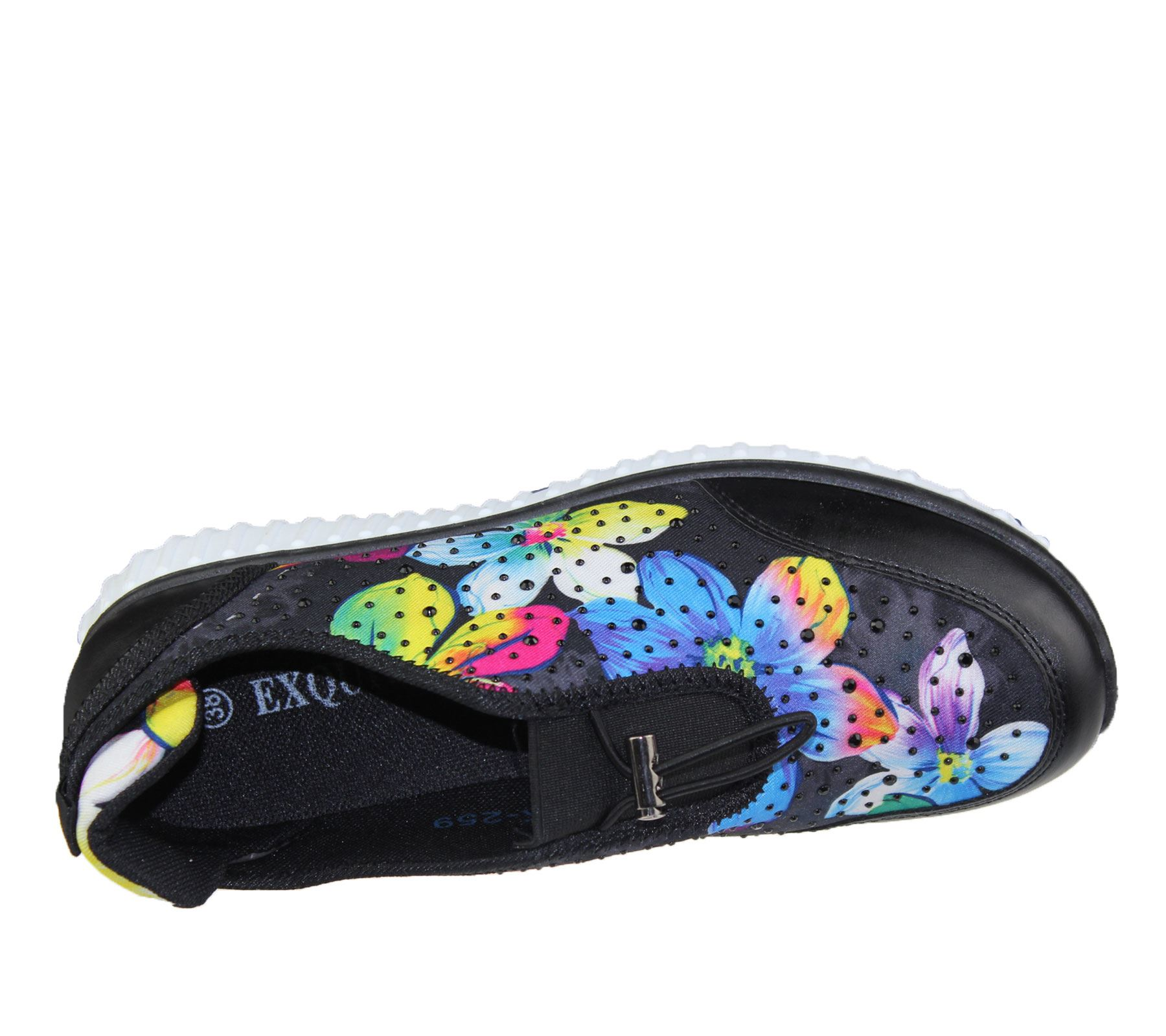 Womens-Trainer-Ladies-Comfort-Walking-Fashion-Summer-Gym-Sport-Flat-Shoes-Size thumbnail 7