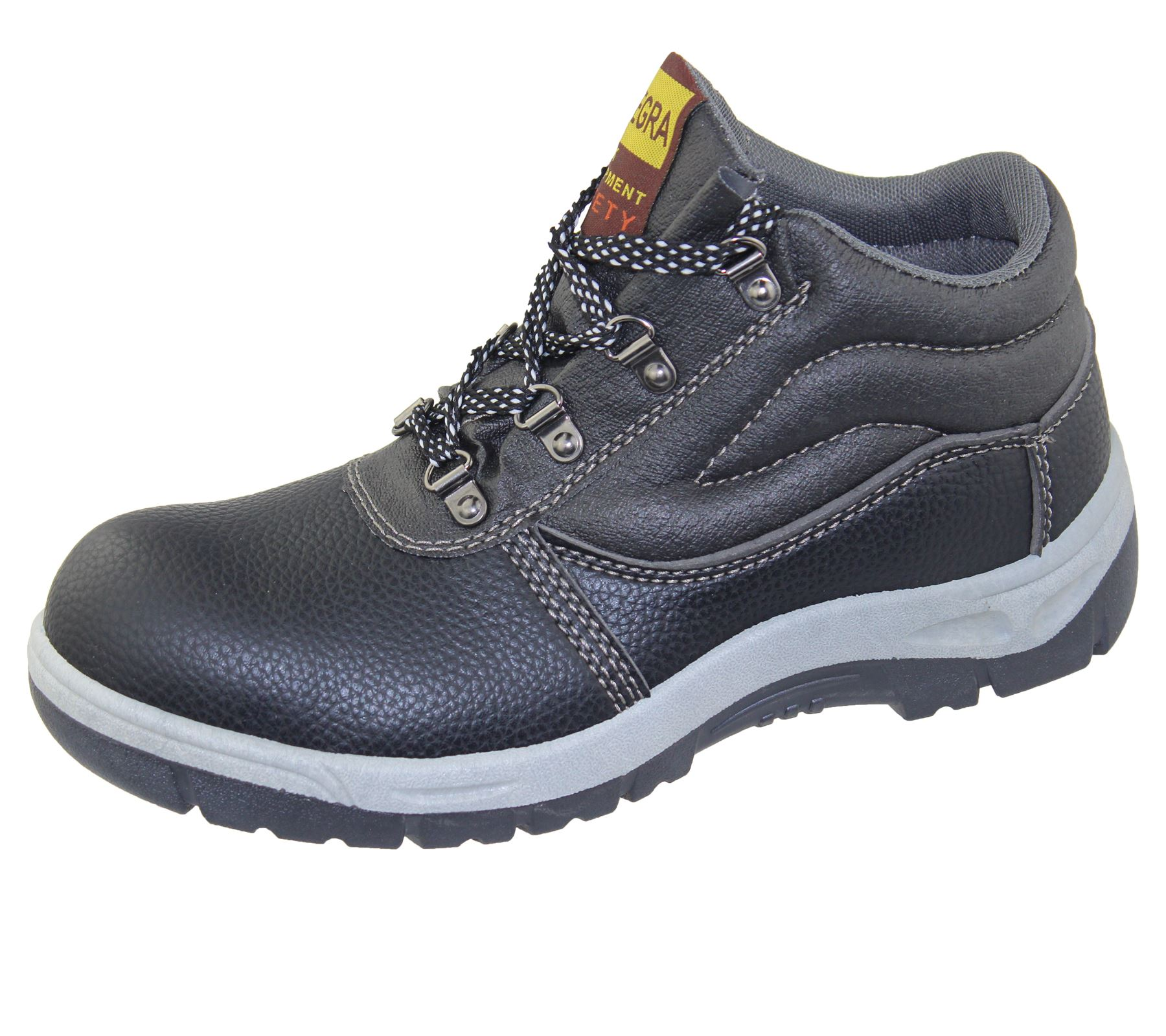 Mens Steel Toe Cap Work Boots Winter Combat Hiking High ...- photo #50