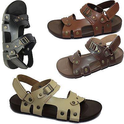 Chicos Sandalias Flip Flop Comodidad Informal Caminar Zapatillas de Moda de Verano Playa