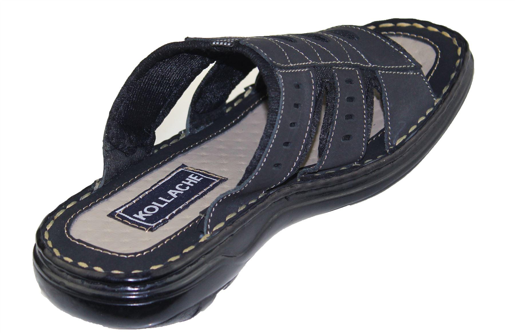 Mens-Slipper-Sandal-Sports-Beach-Buckle-Walking-Fashion-Summer-Casual-Shoes-Size miniatura 19