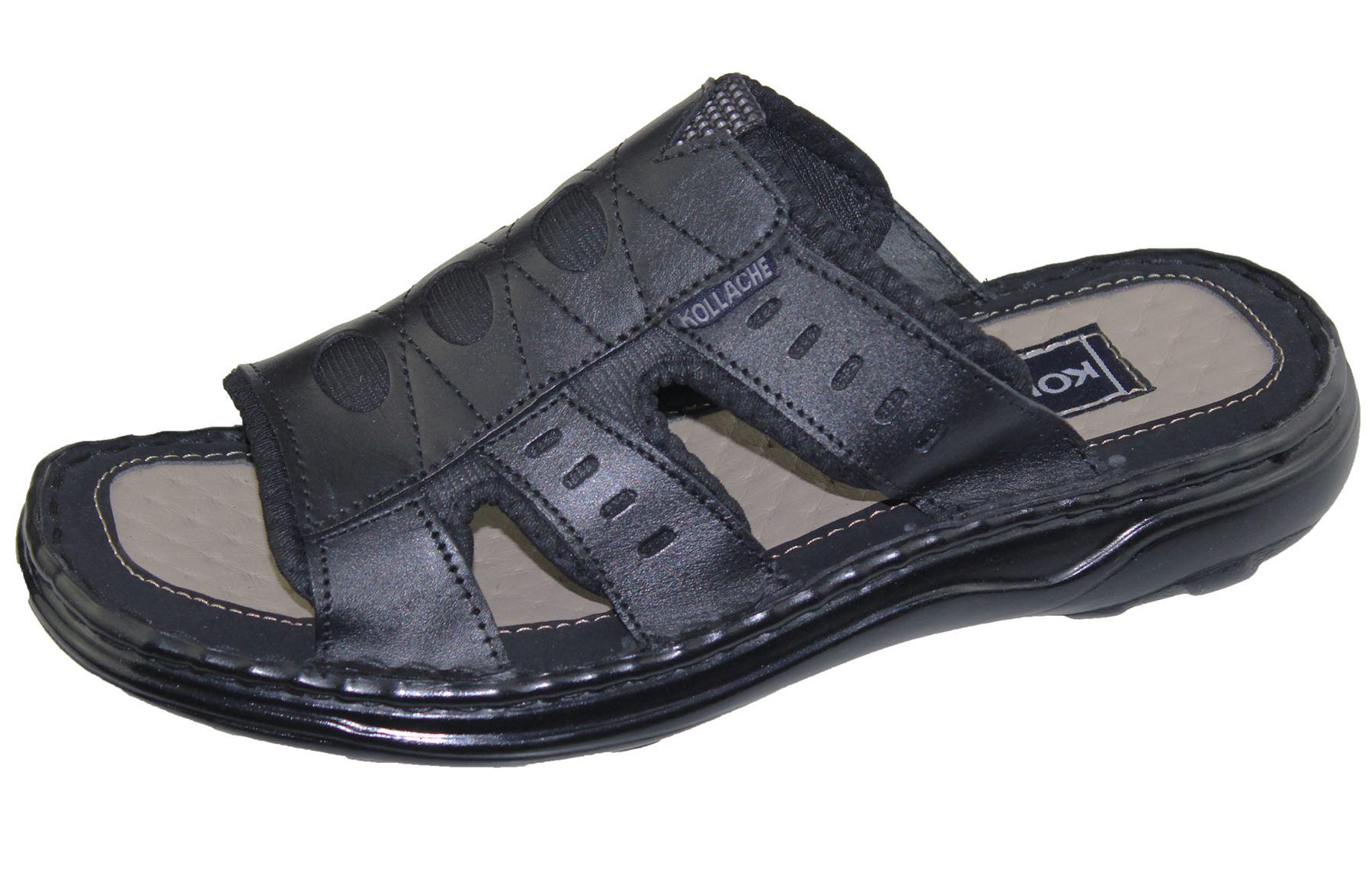 Mens-Slipper-Sandal-Sports-Beach-Buckle-Walking-Fashion-Summer-Casual-Shoes-Size miniatura 11